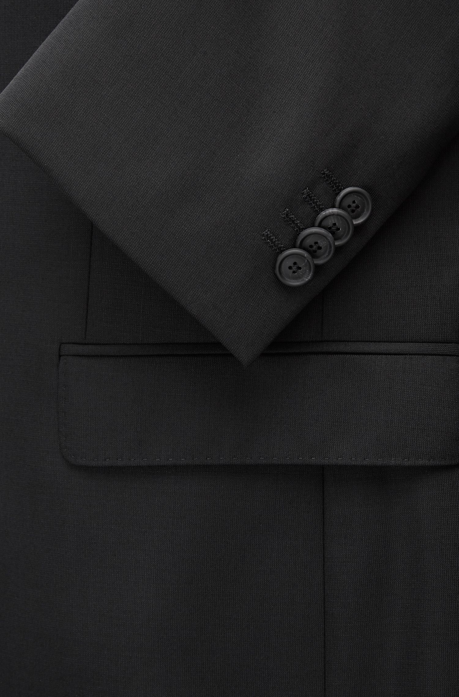 Stretch Tailoring Wool Travel Suit, Slim Fit | Nestro/Byte