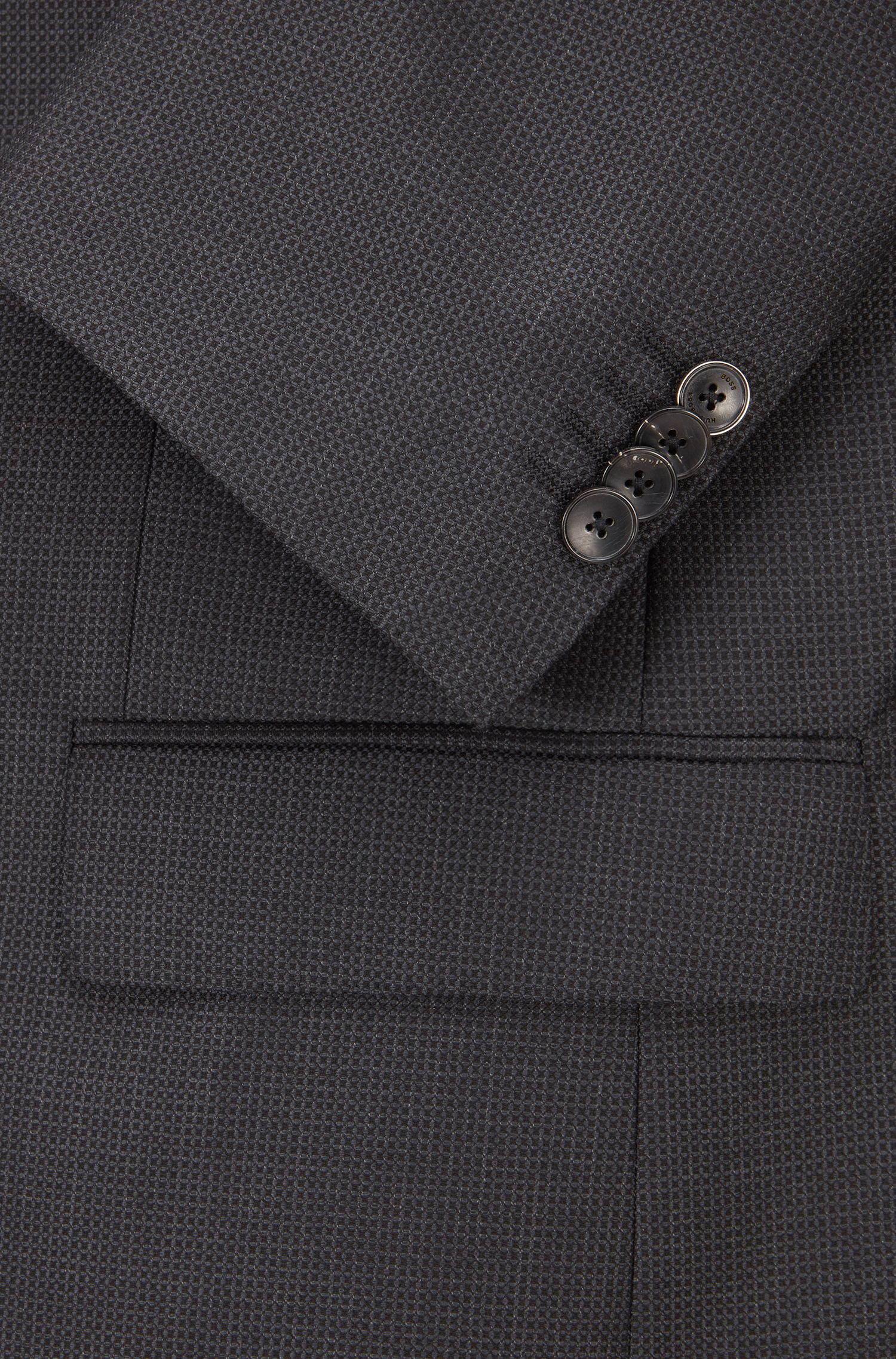 Nailhead Virgin Wool 3-Piece Suit, Slim Fit | Huge/Genius WE