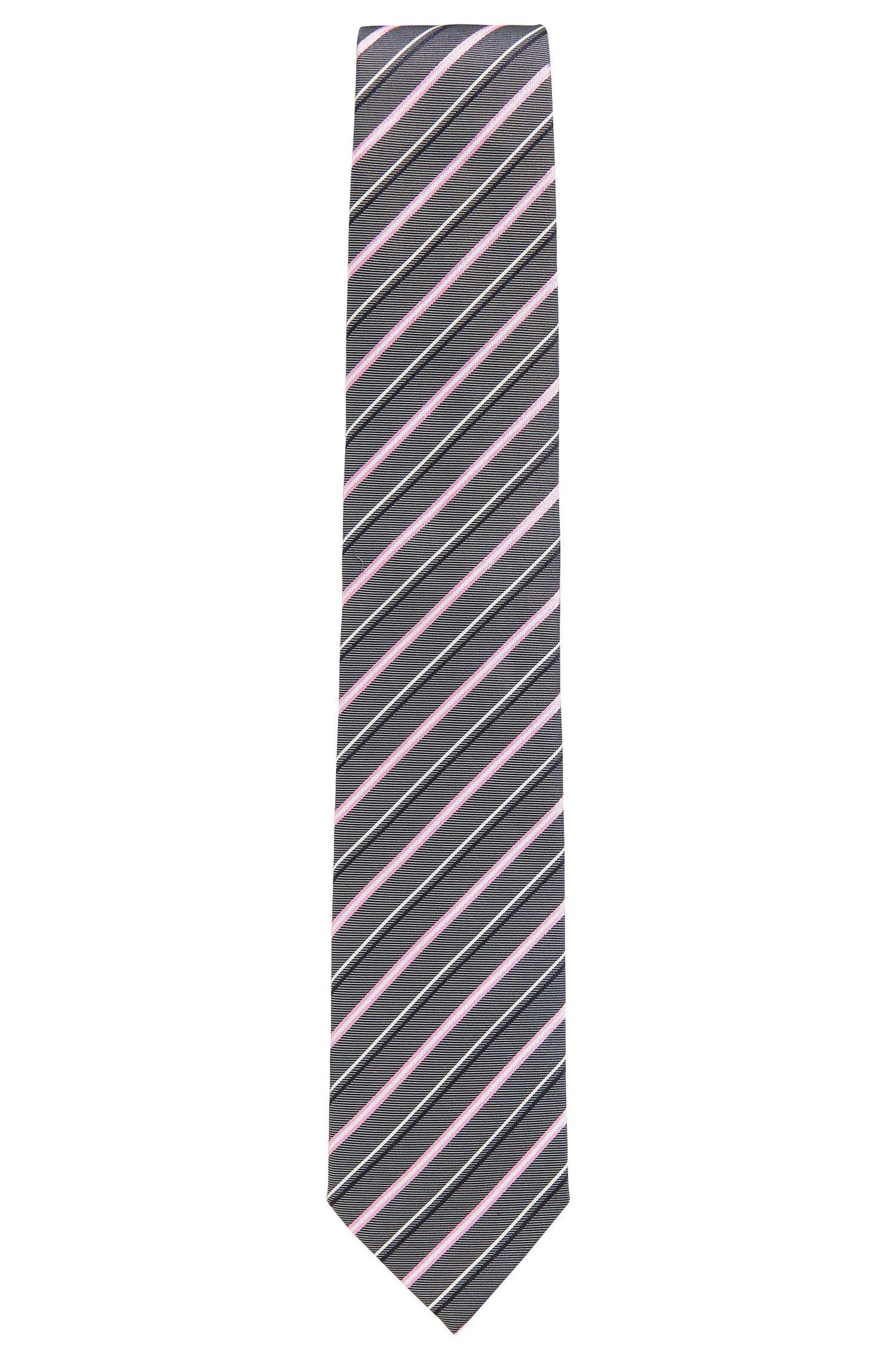 Striped Silk Tie, Regular | Tie 7.5 cm