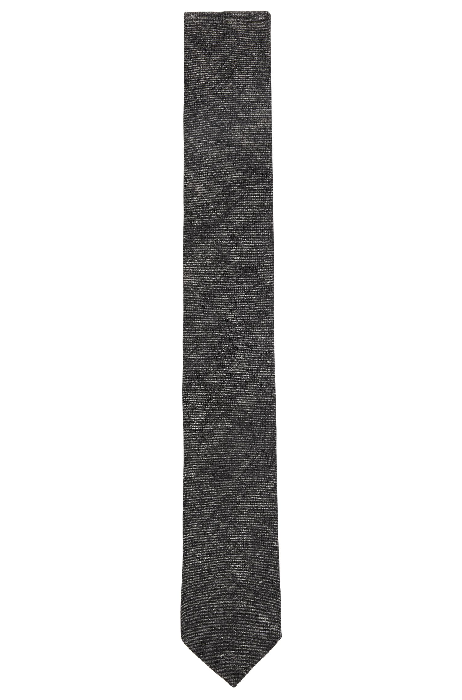 Denim Wool Slim Tie