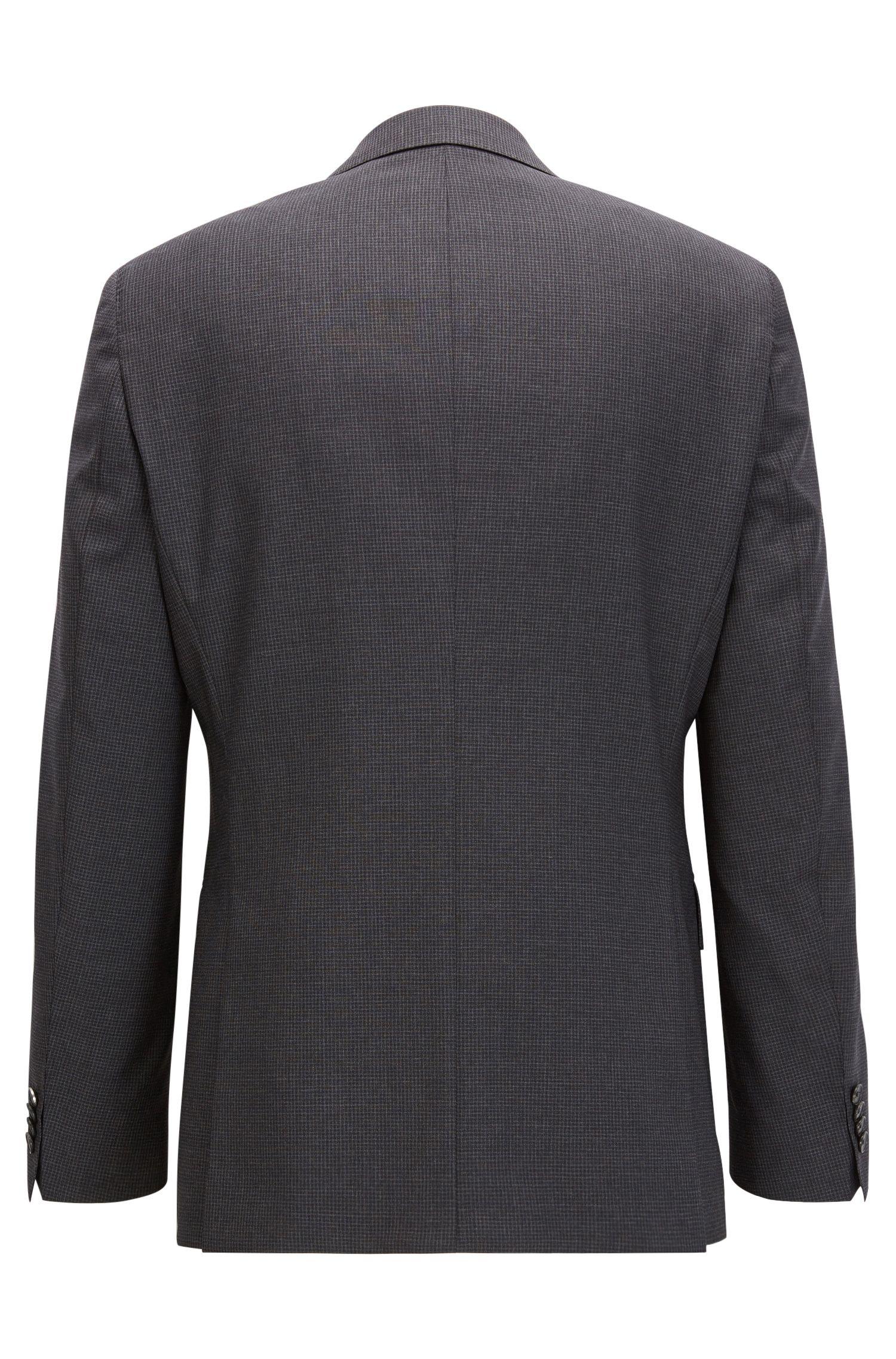 Virgin Wool 3-Piece Suit, Regular Fit | Jerron/Lenon WE, Open Grey