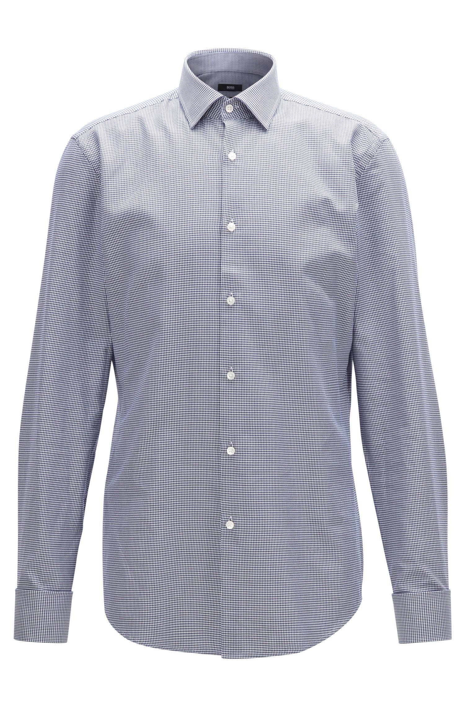 Houndstooth Dress Shirt, Slim Fit   Jacques