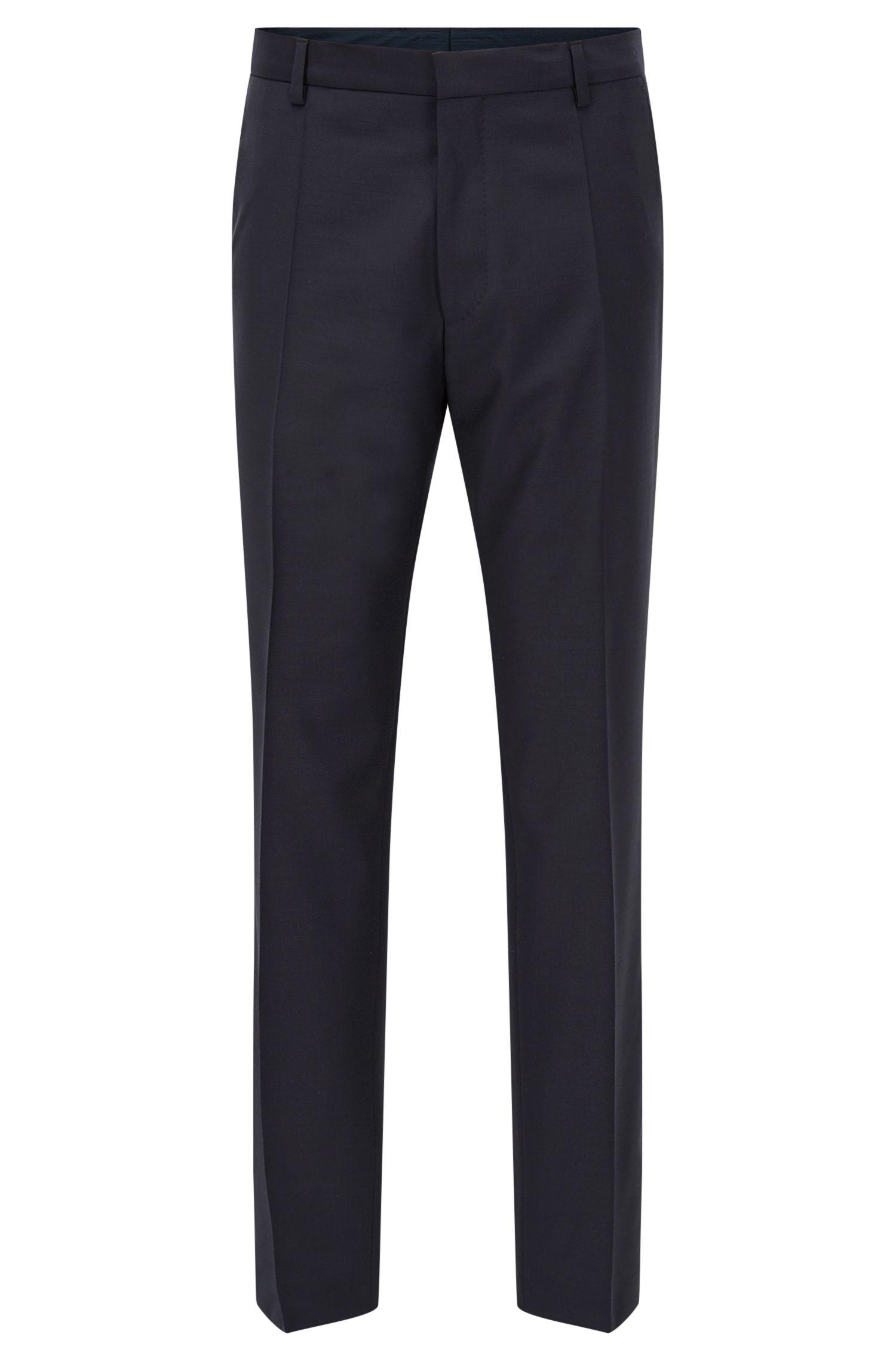 Traveler Virgin Wool Trousers, Slim Fit | Barnes
