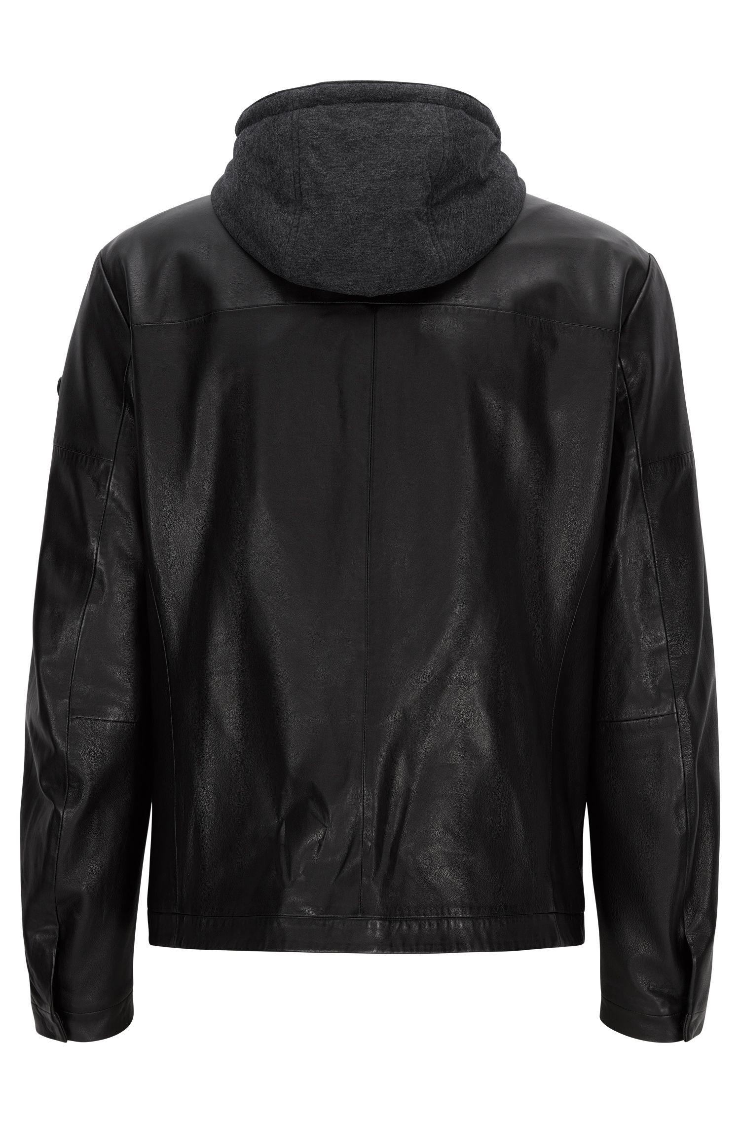 Sheepskin Hooded Jacket | Jylion