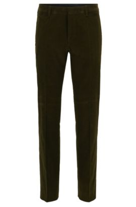 Corduroy Dress Pant, Slim Fit | Genesis, Open Green