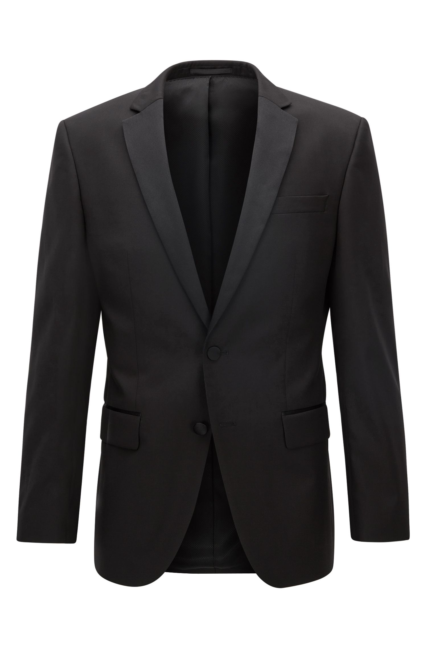 Italian Virgin Wool Suit Jacket, Slim Fit | Hence CYL