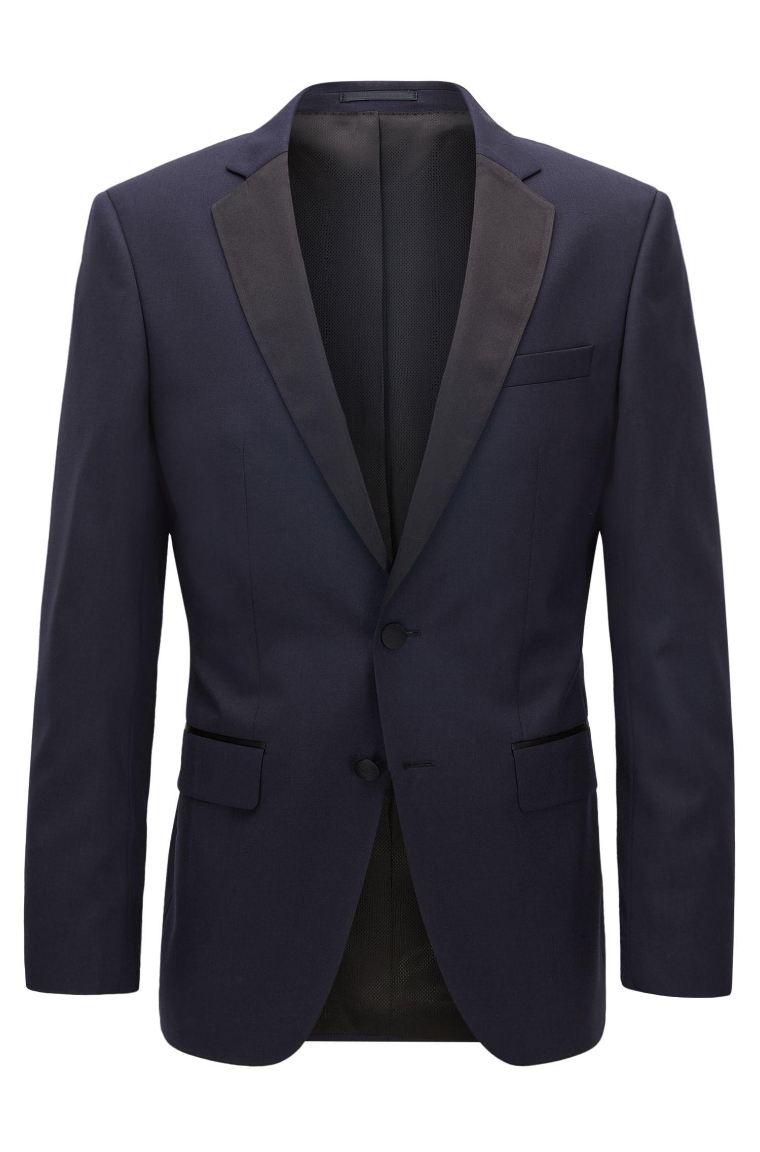 Italian Virgin Wool Suit Jacket, Slim Fit | Hence CYL