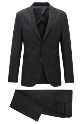 Jersey Suit, Slim Fit | Nilon/Bryan , Charcoal
