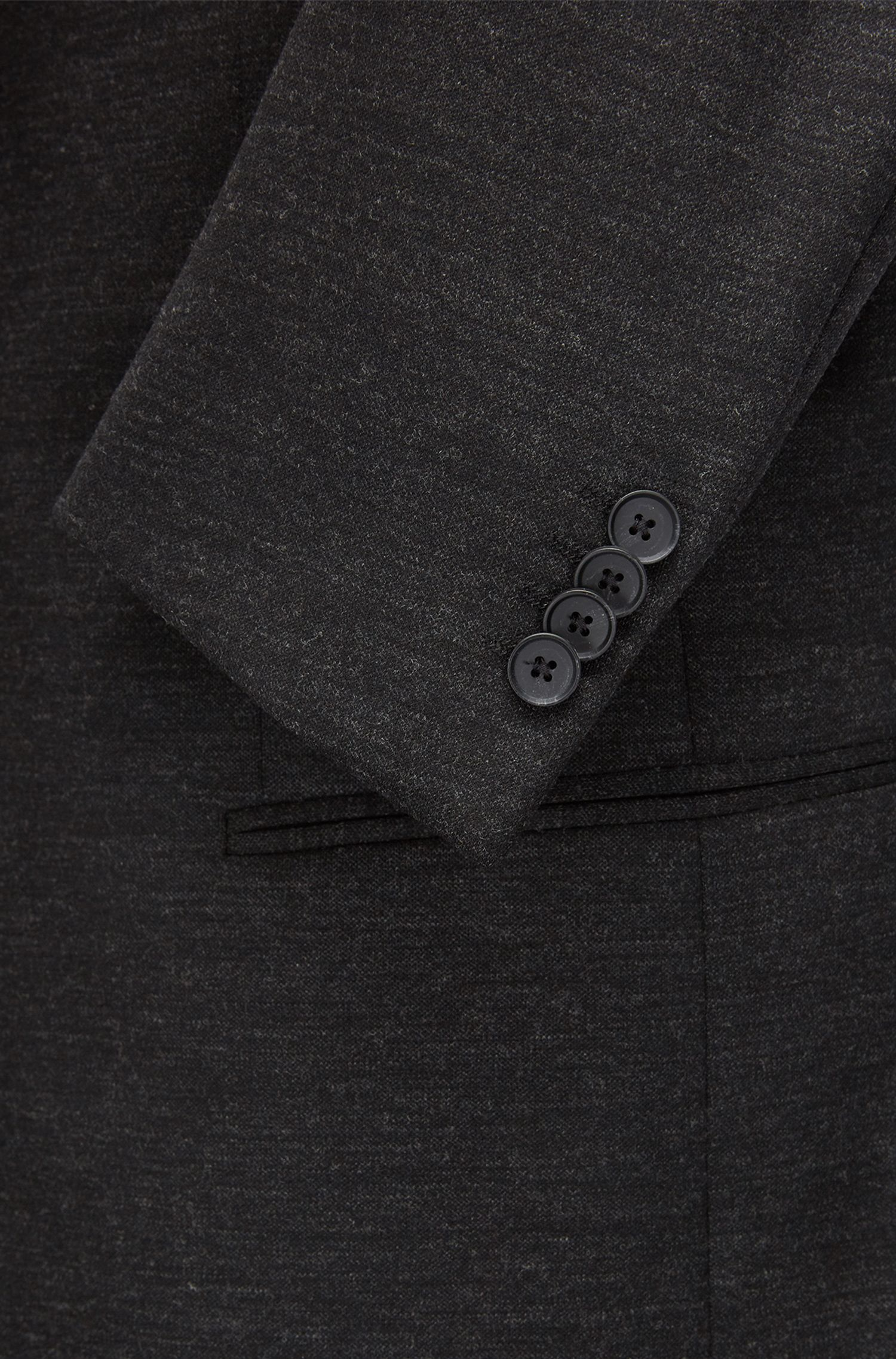Jersey Suit with Stretch Tailoring, Slim Fit | Nilon/Bryan