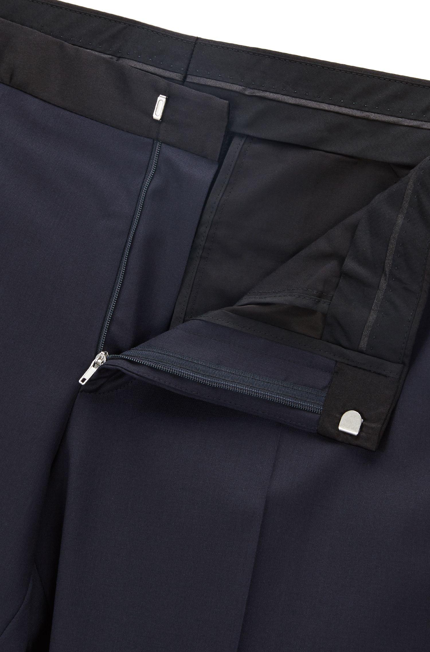 Italian Virgin Wool Pant, Slim Fit | Gilan CYL