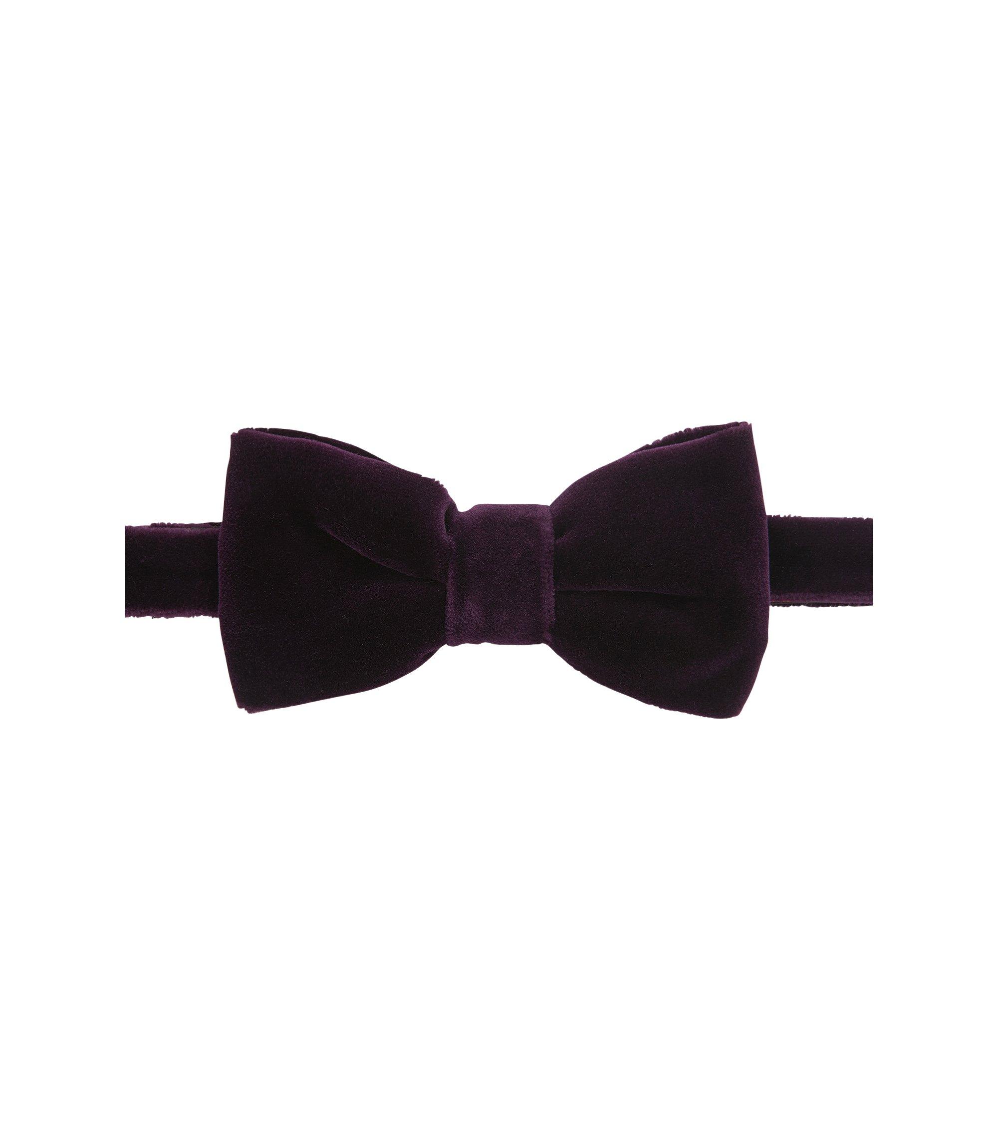 Velvet Bow Tie, Dark pink