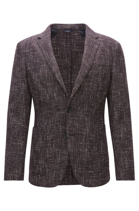 cd023a65d BOSS - Virgin Wool Blend Tweed Sport Coat, Slim Fit | Nold