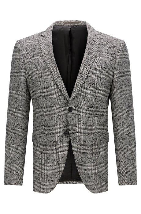 7a8018f094 BOSS - Glen Plaid Wool Blend Sport Coat, Extra Slim Fit   Rainald