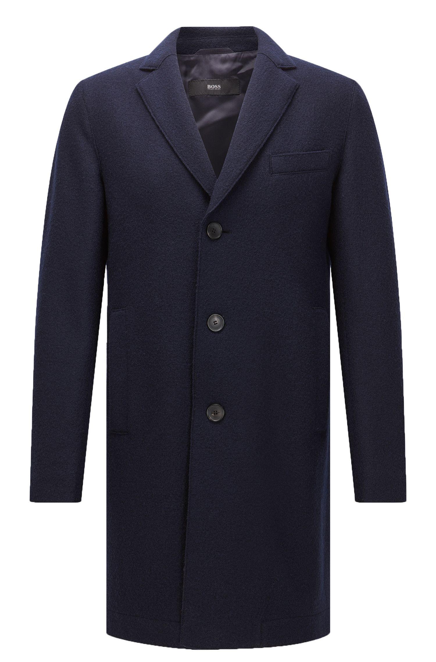 Virgin Wool Coat | Shawn