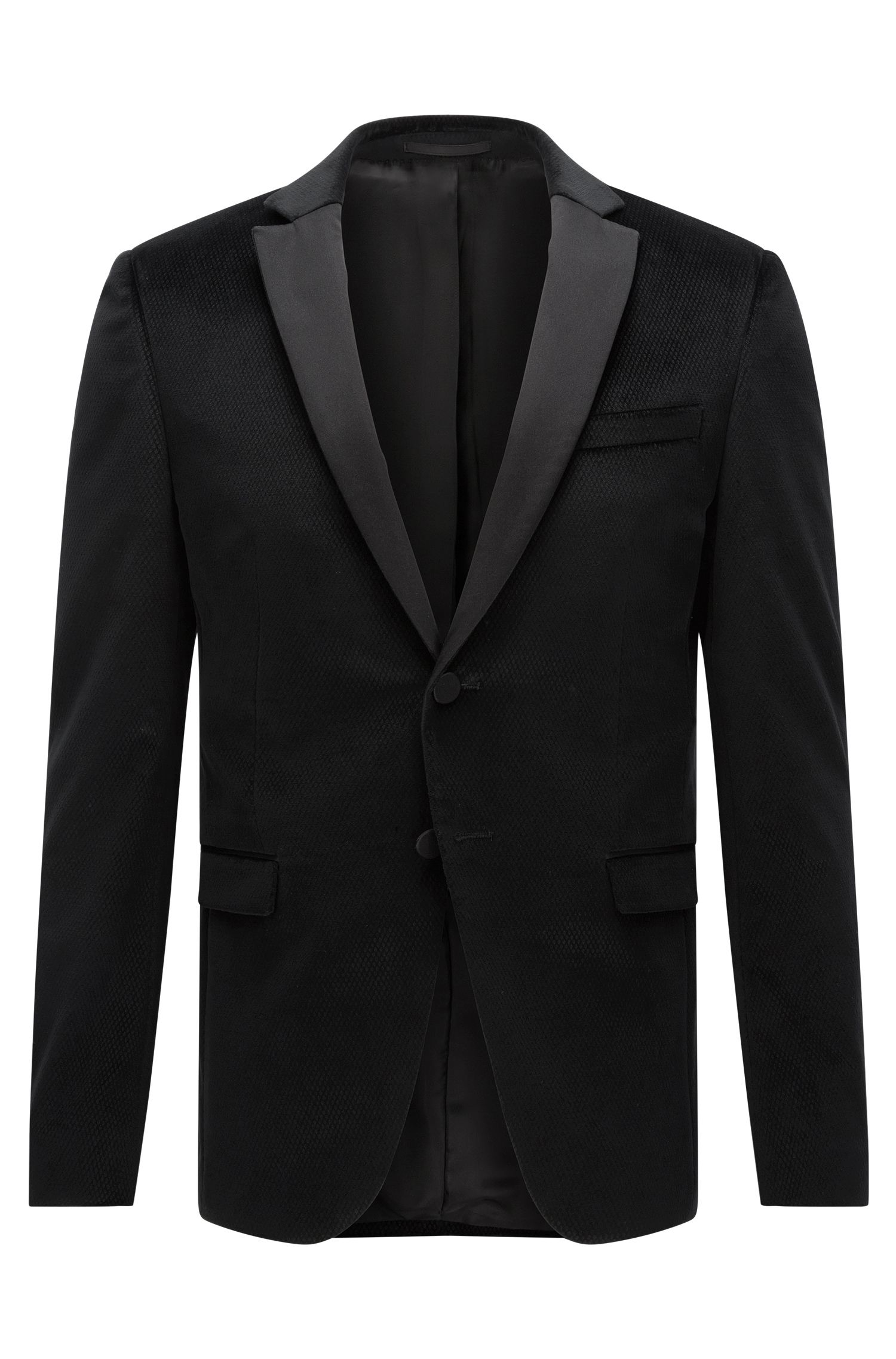 Diamond Cotton Dinner Jacket, Extra Slim Fit | Rainald