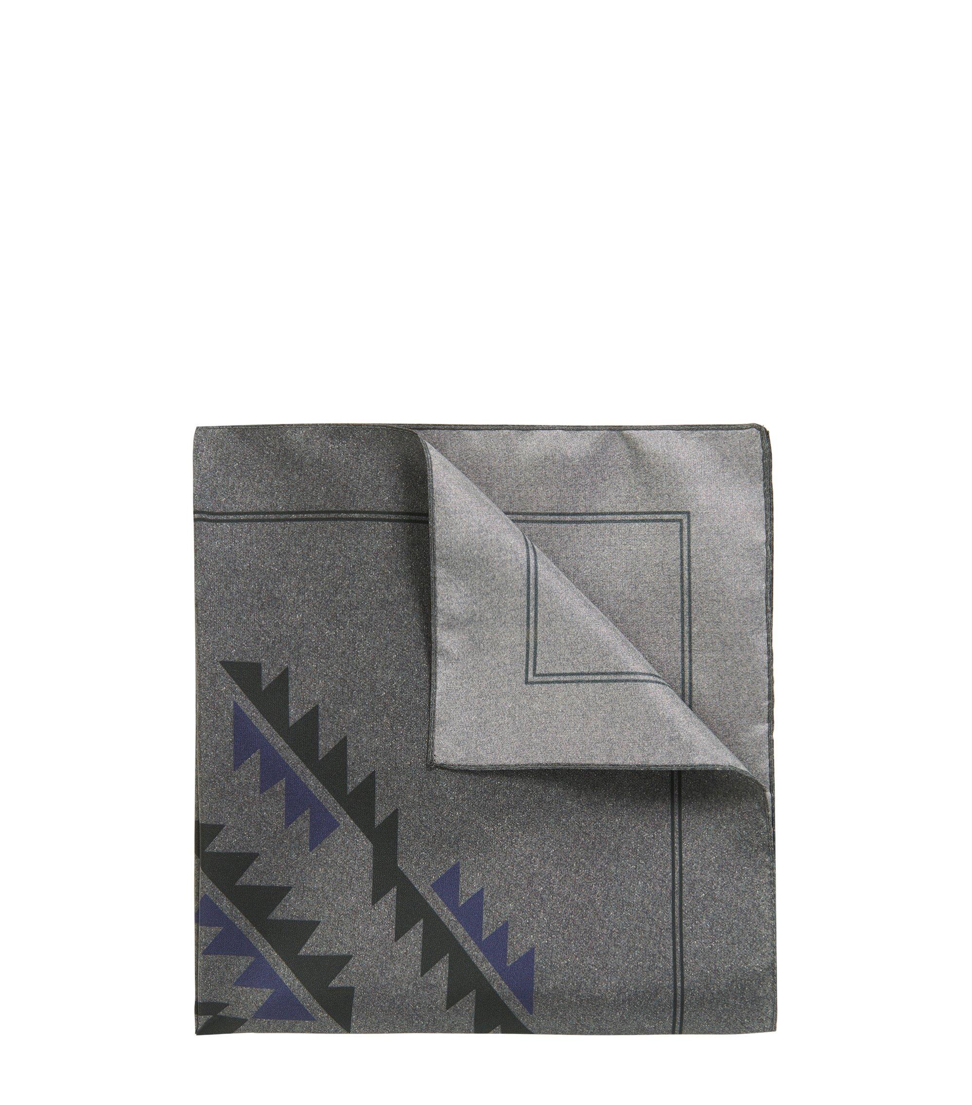 'Bandana cm 43x43' | Silk Bandana, Black