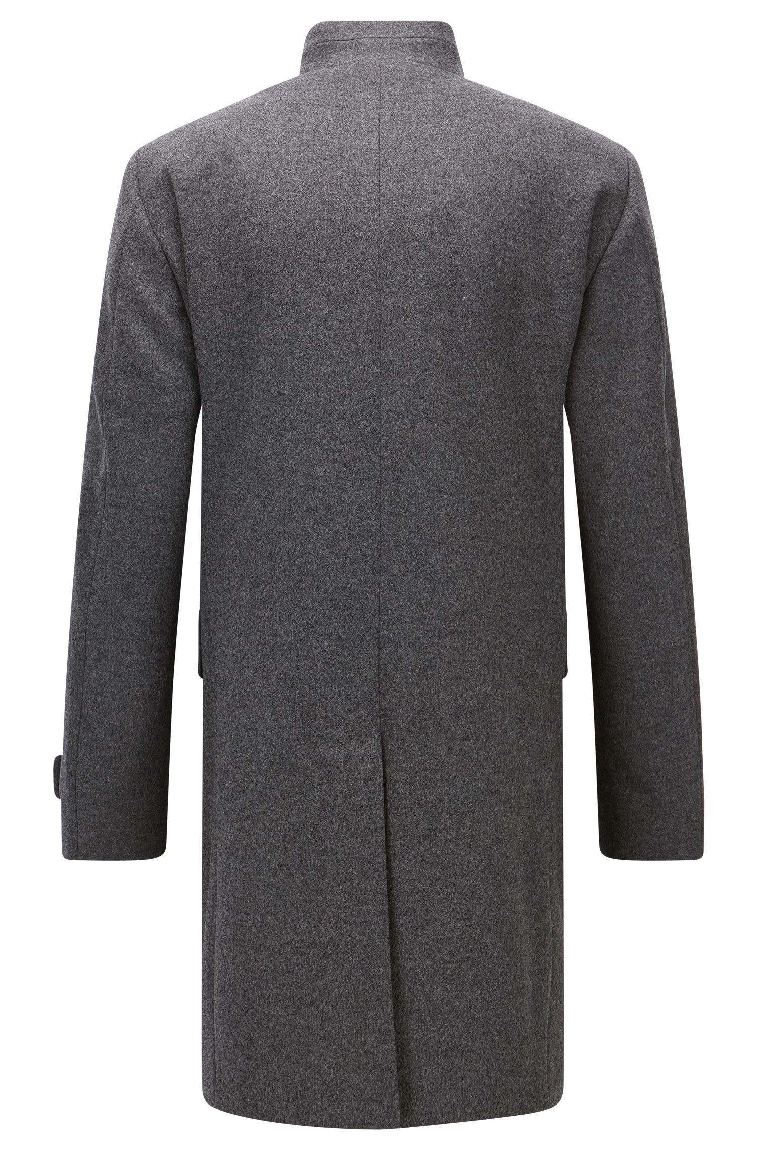 Virgin Wool Cashmere Coat | Sintrax
