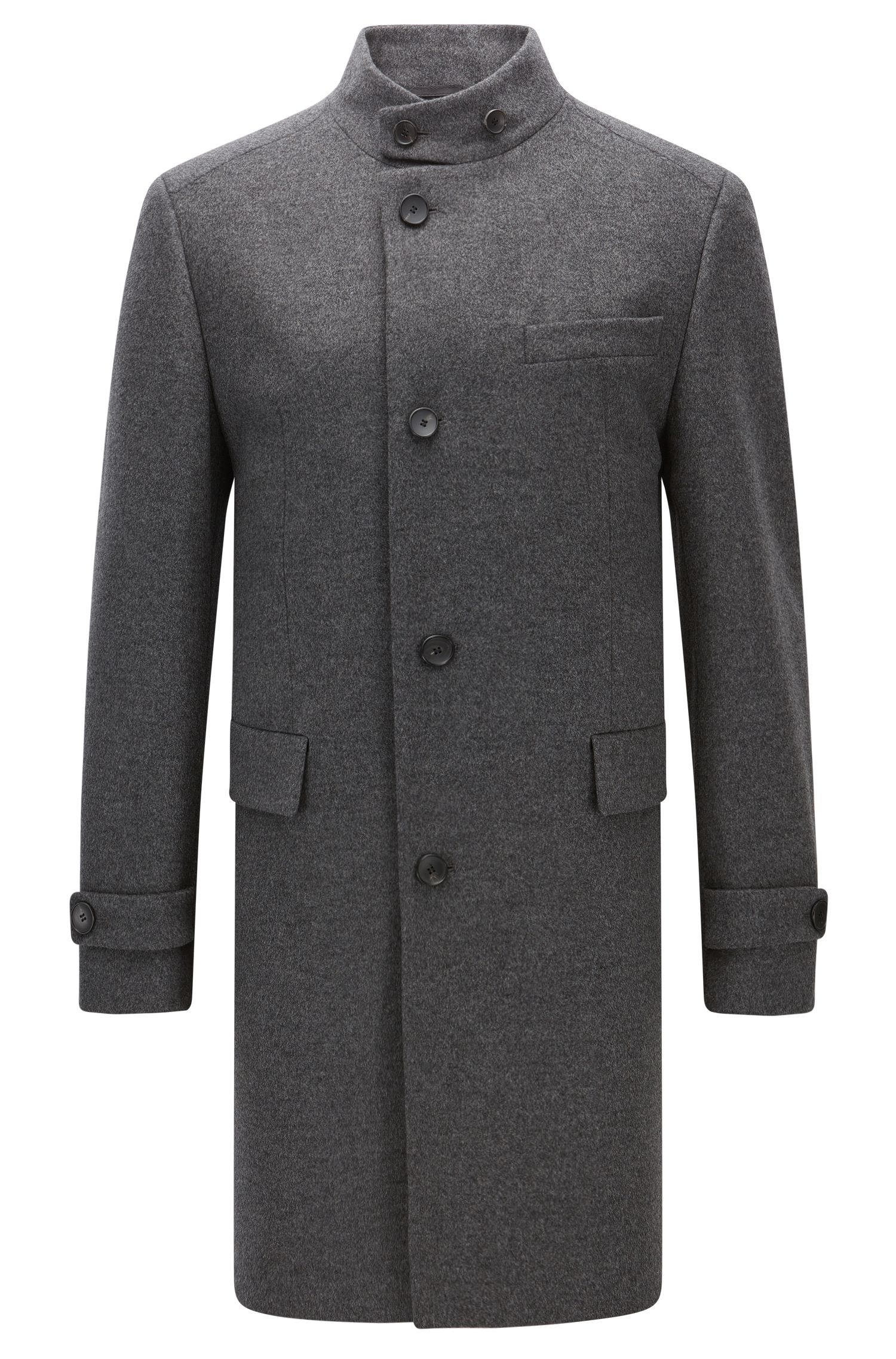 Virgin Wool Cashmere Coat | Sintrax