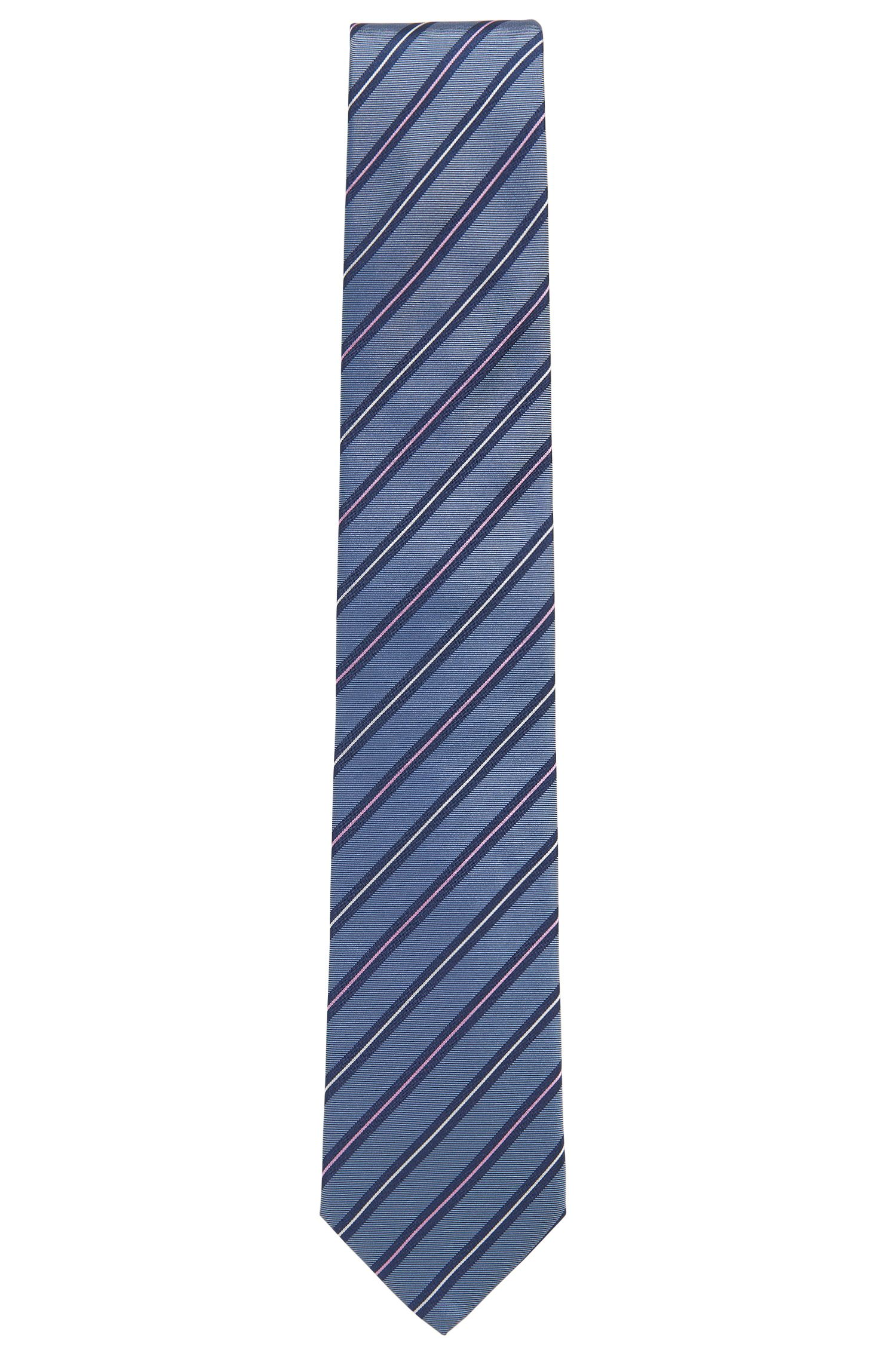 Striped Silk Tie, Regular | Tie 7.5 cm