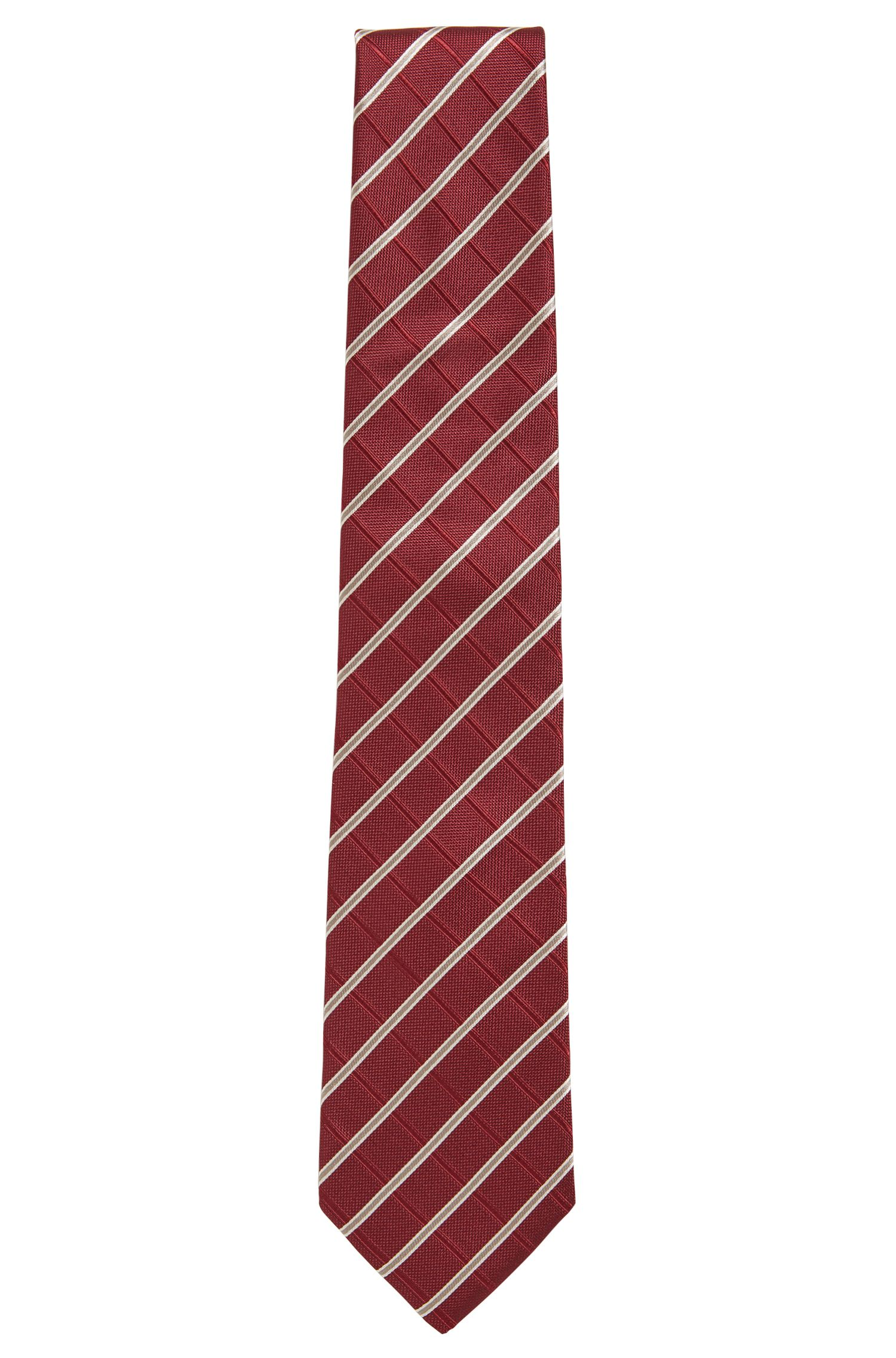 Striped Silk Tie | Tie 7.5 cm