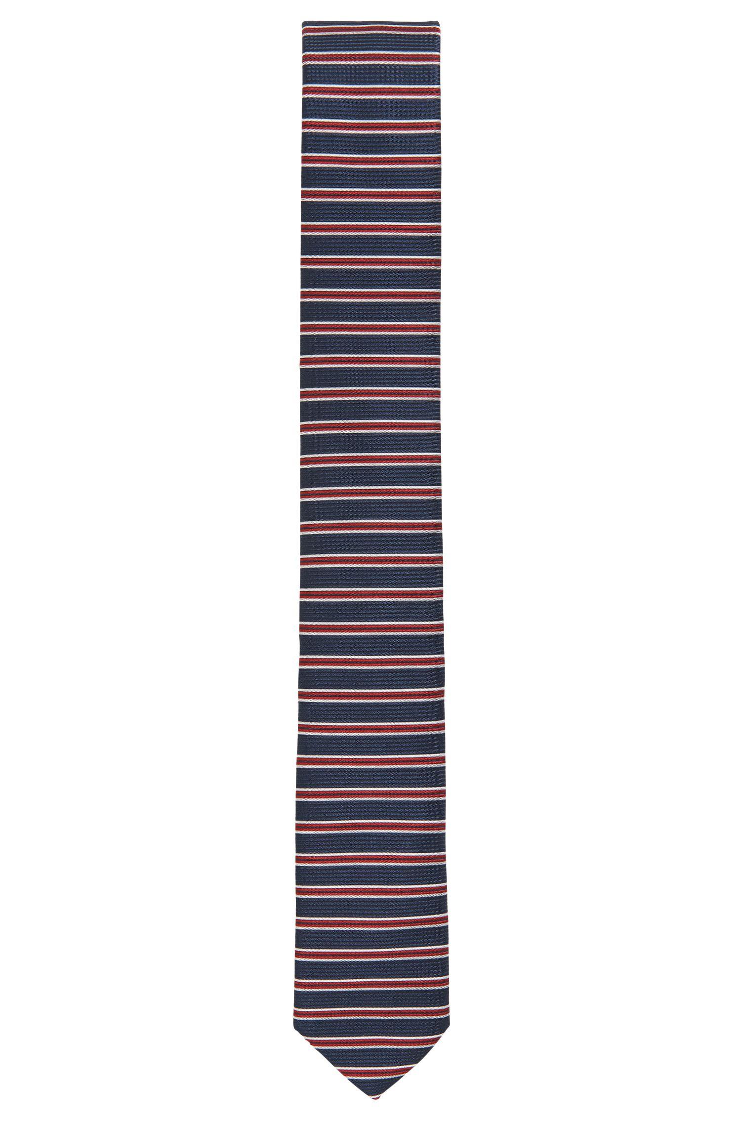 Striped Silk Tie, Slim | Tie 6 cm