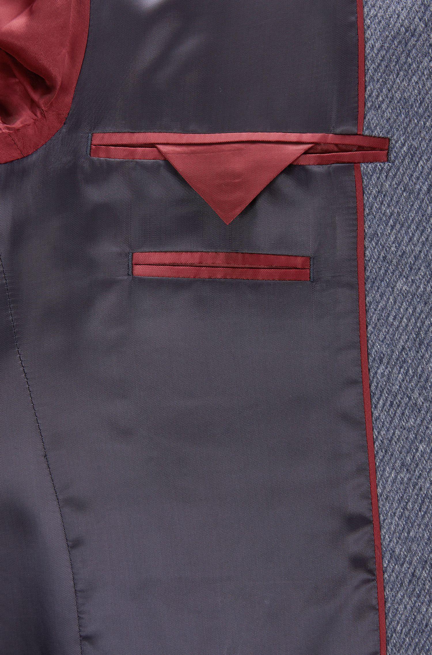 Virgin Wool-Cashmere Coat | Stratus
