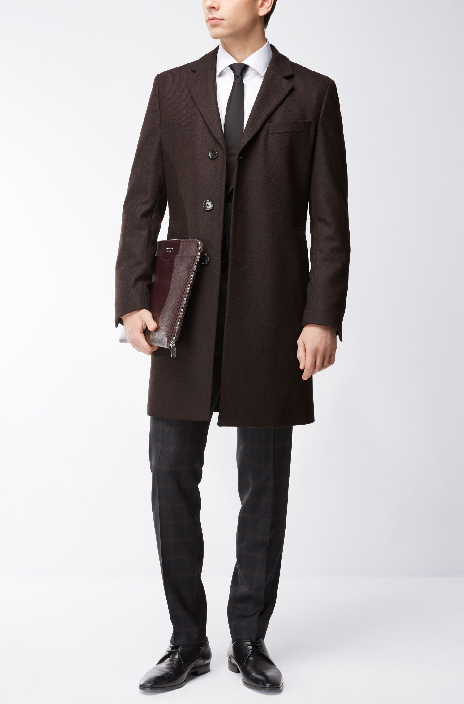 Virgin Wool Blend Topcoat | Nye
