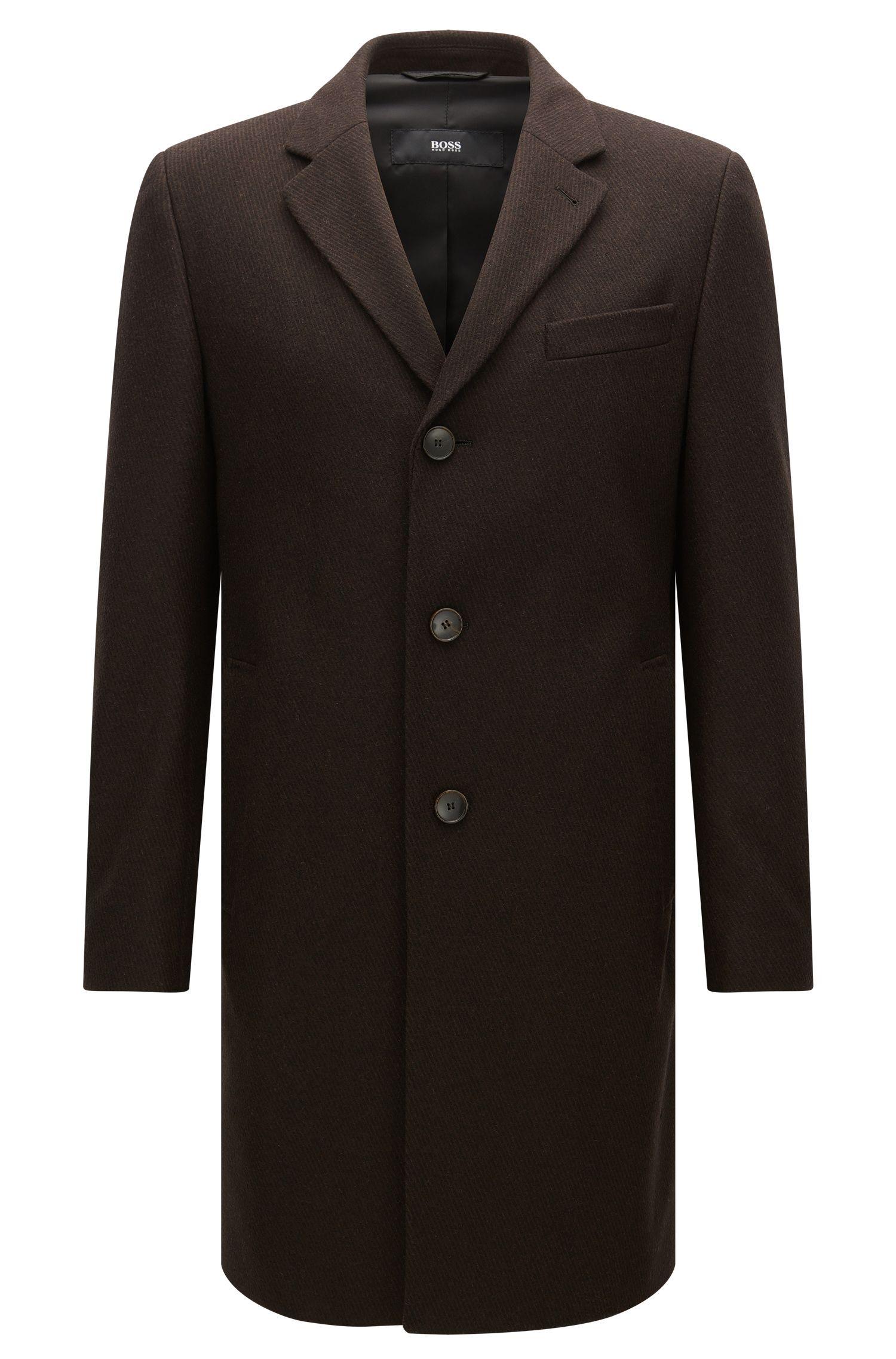 'NYE' | Virgin Wool Blend Topcoat