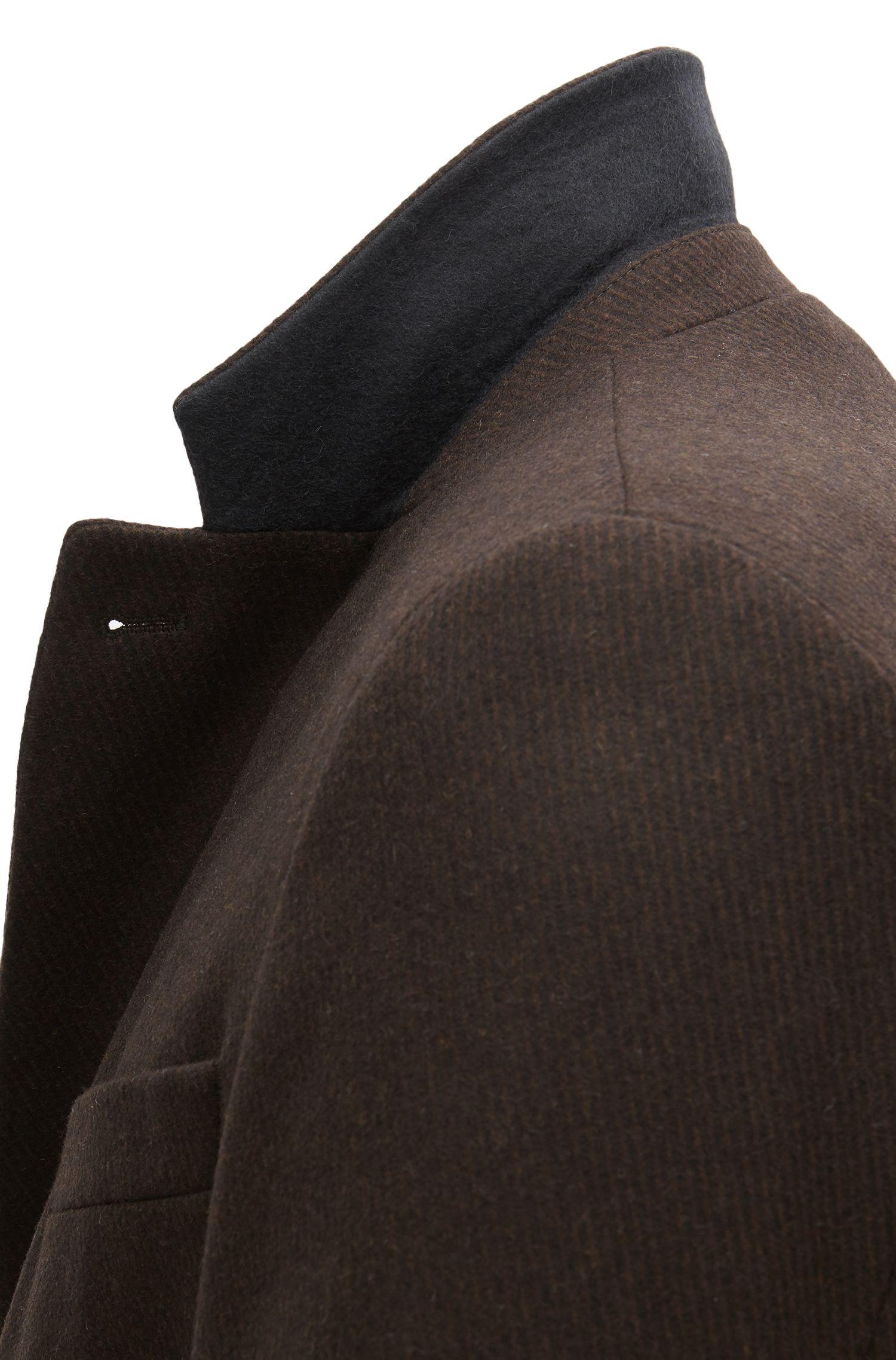Virgin Wool Blend Topcoat | Nye