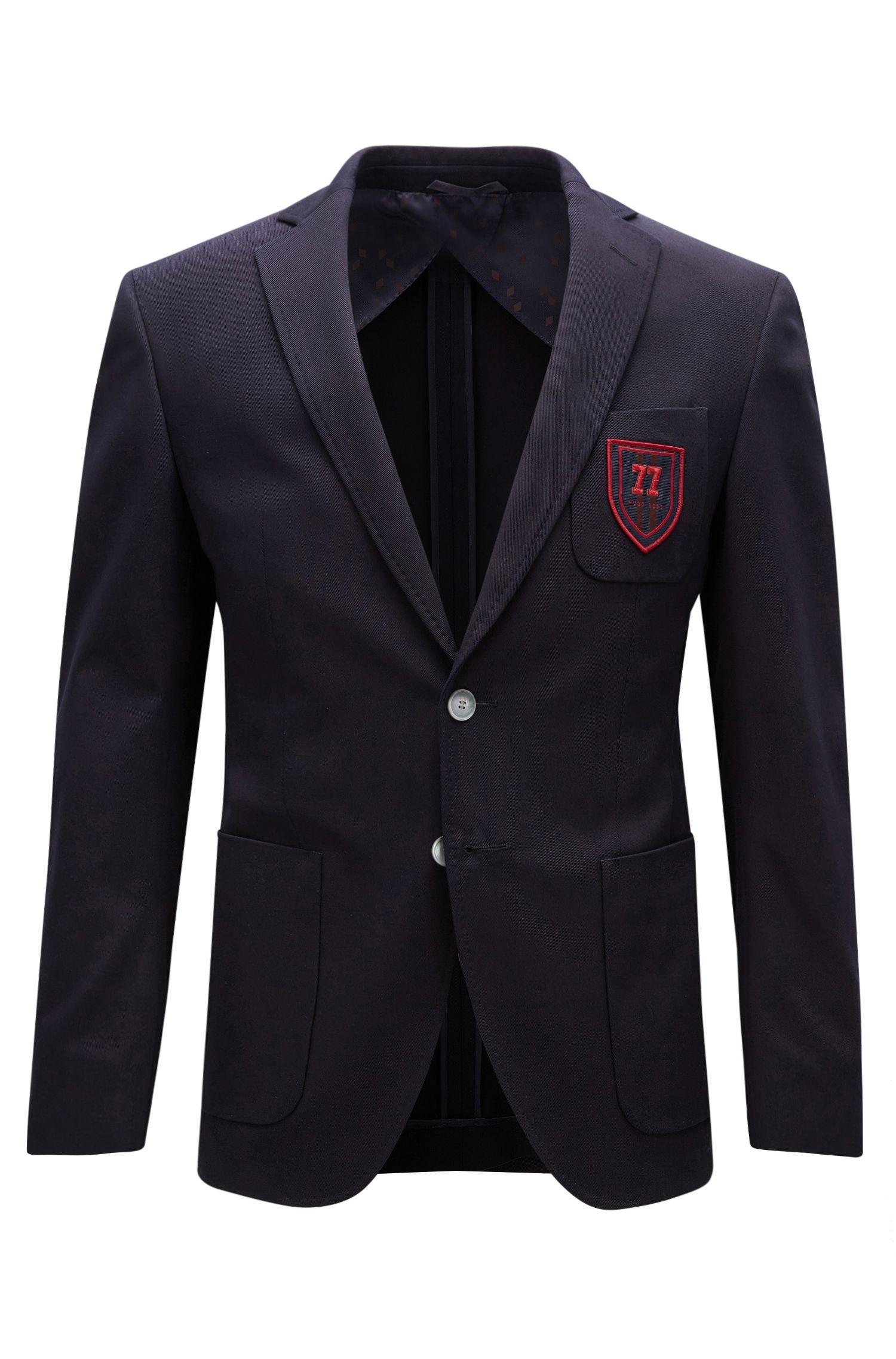 Stretch Cotton Club Sport Coat, Extra Slim Fit | Raye