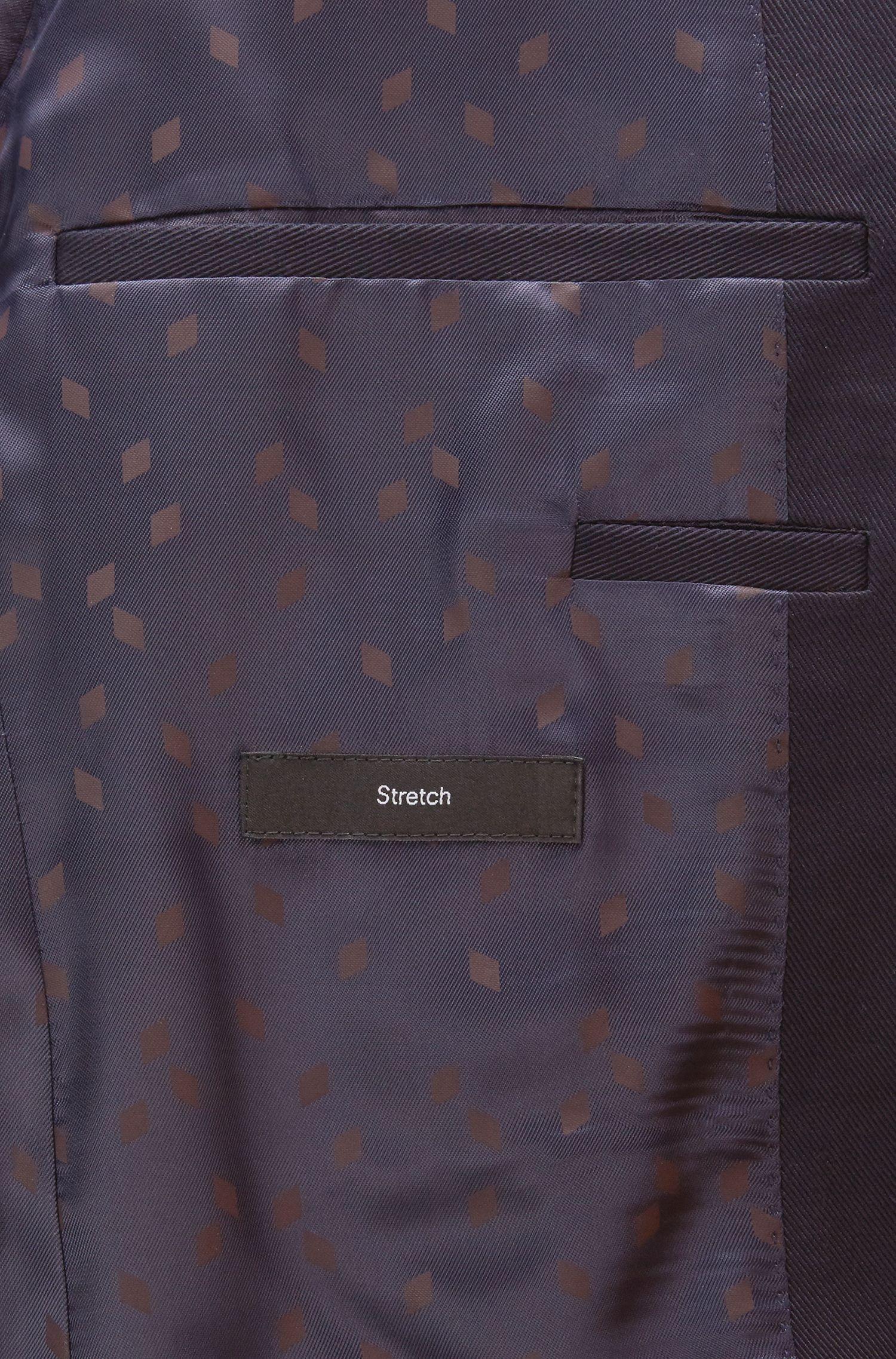 Stretch Cotton Club Sport Coat, Extra Slim Fit | Raye, Dark Blue