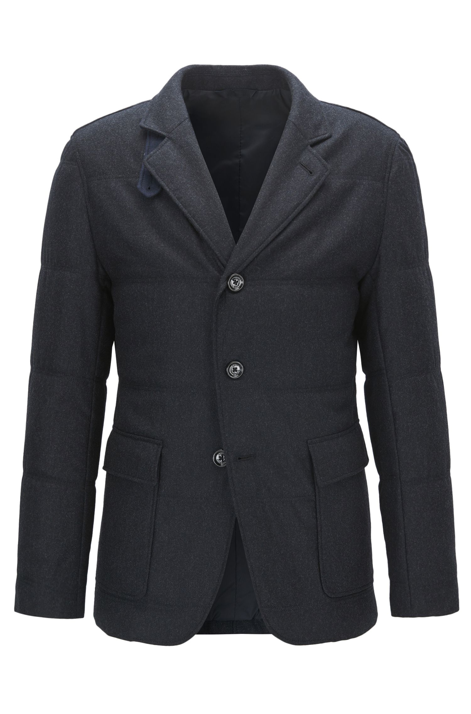 Water-Repellent Virgin Wool Cashmere Blend Sport Coat | T-Niklaas