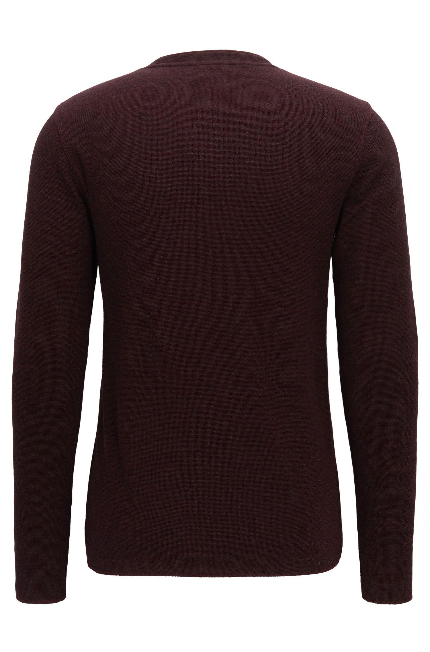 'Topsider' | Cotton Henley Shirt