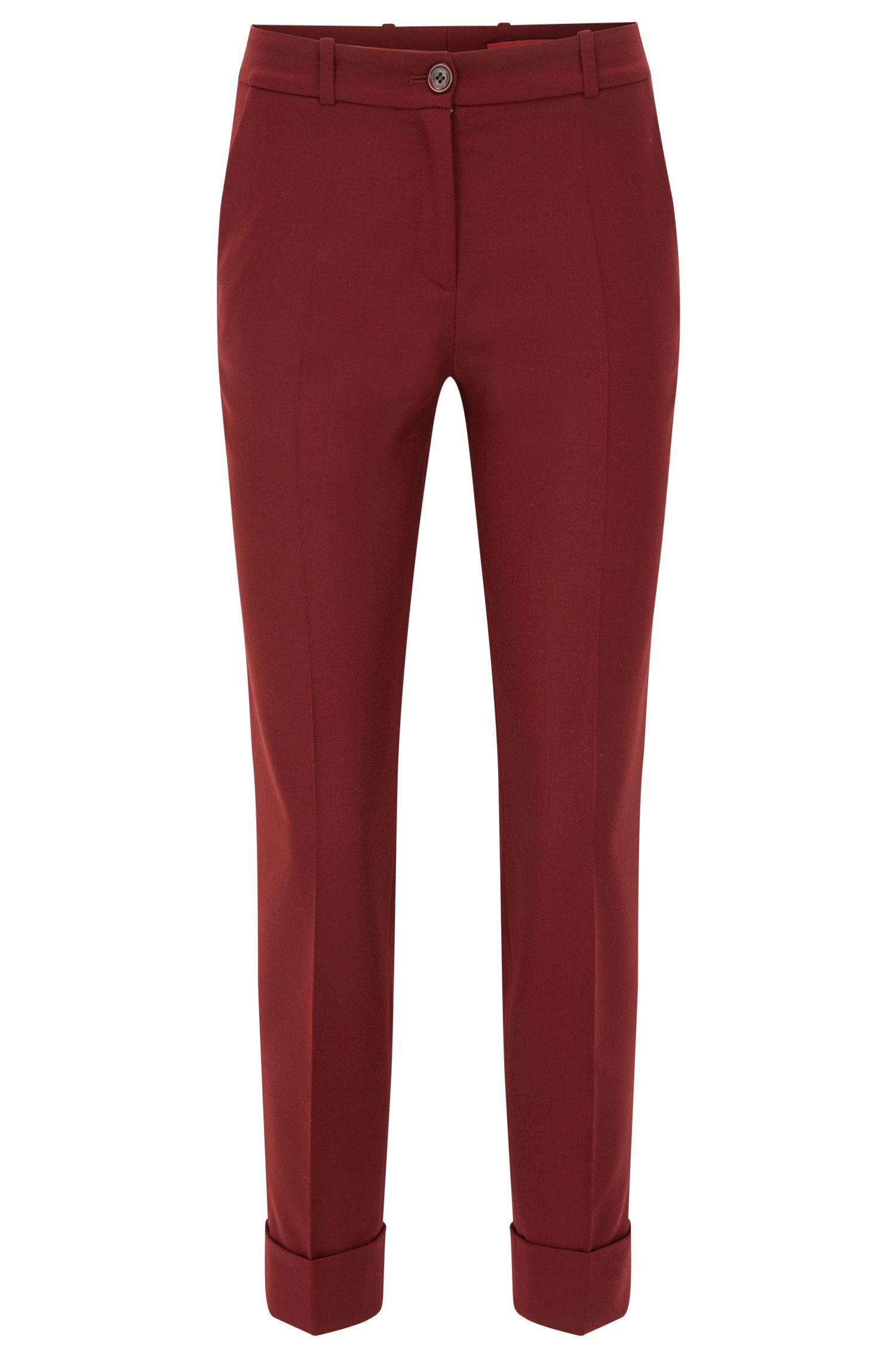'Hulya' | Stretch Virgin Wool Pants