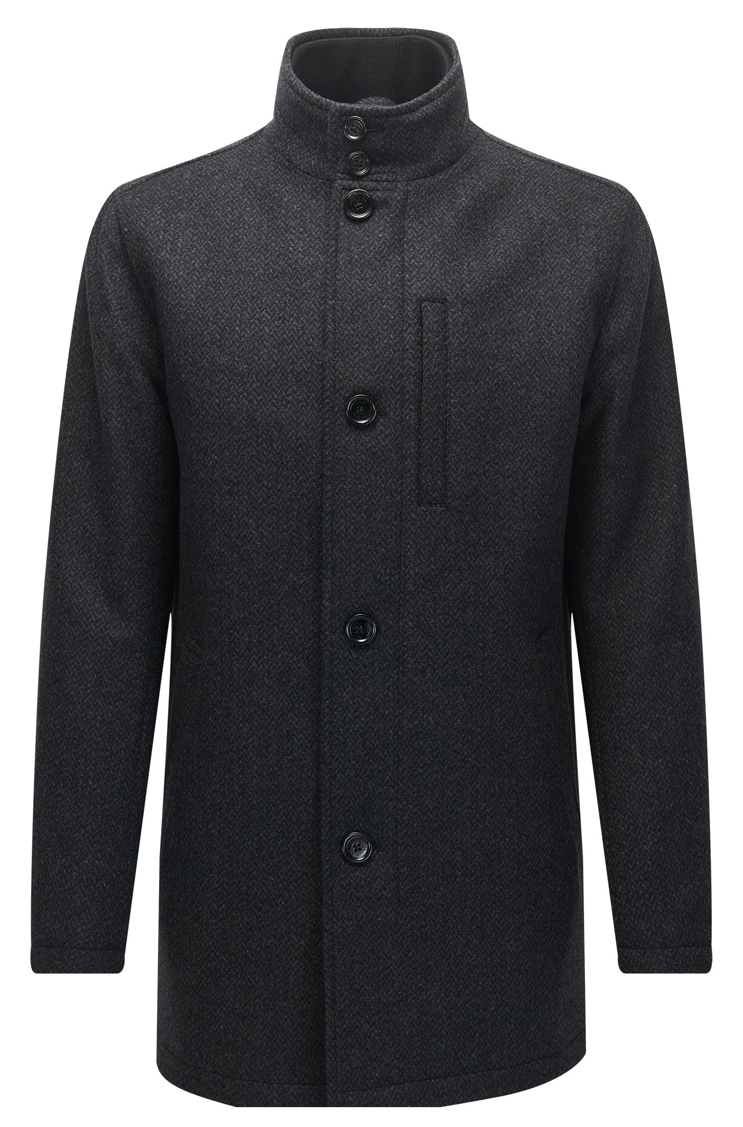 Wool Blend Jacket | Camron