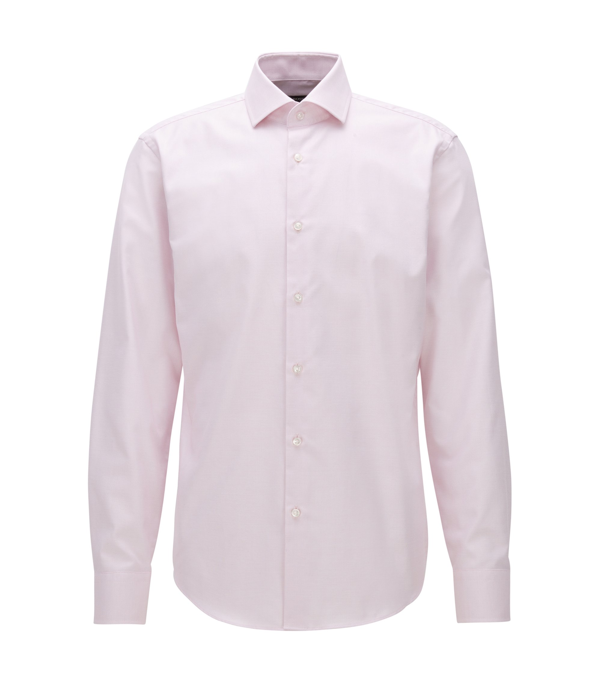Fresh Active Traveler Dress Shirt, Regular Fit | Gordon, light pink