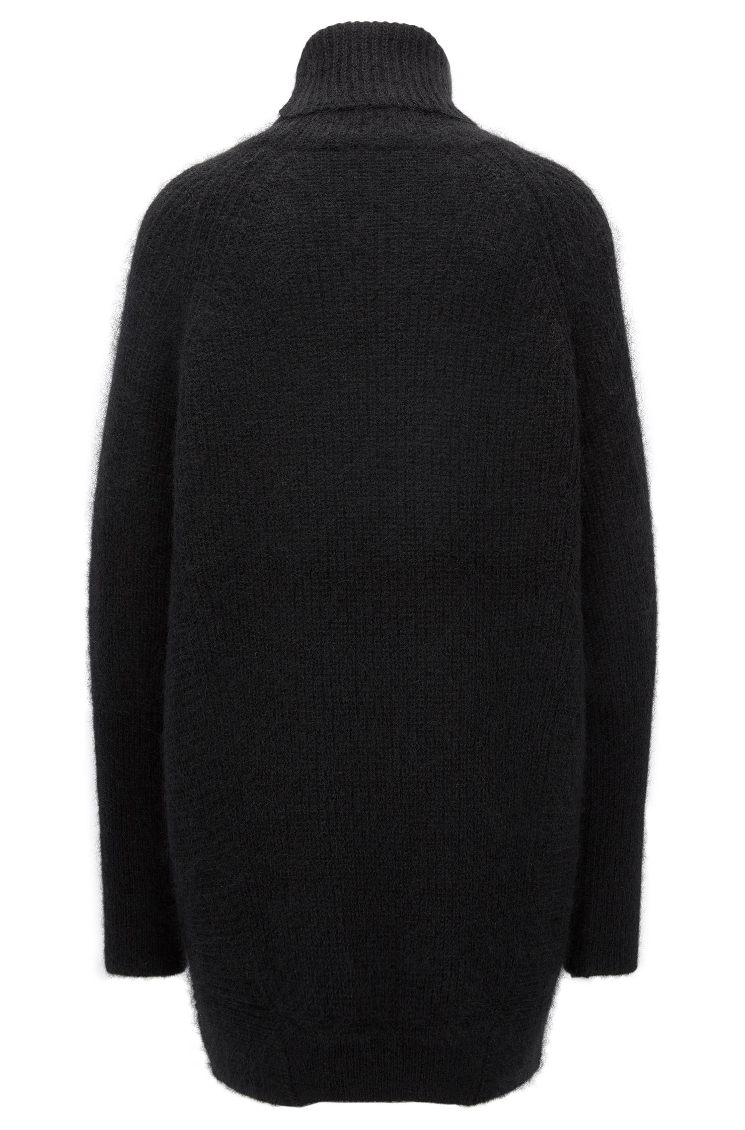 Stretch Mohair Oversized Sweater | Fianca