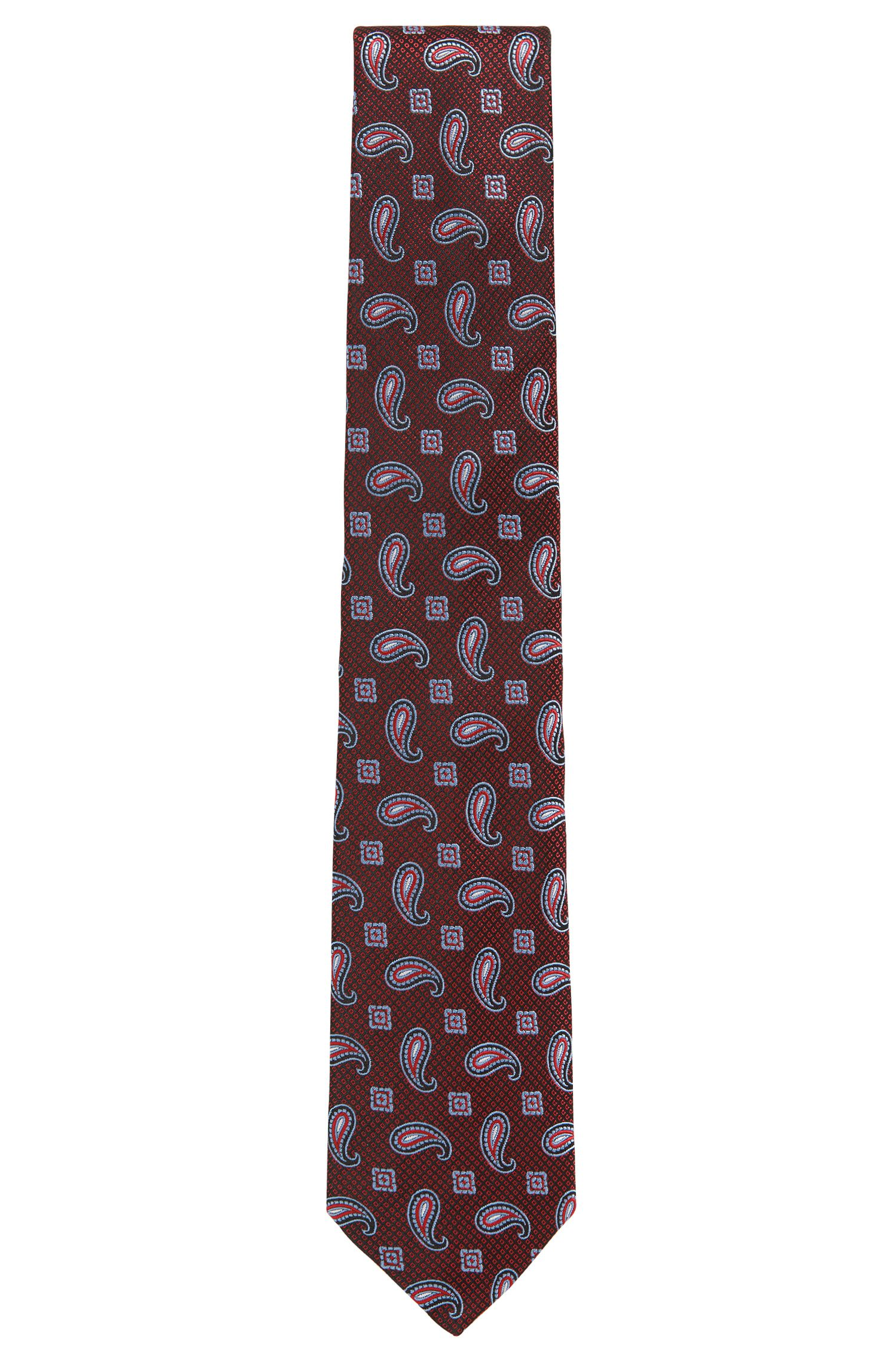 BOSS Tailored Paisley Italian Silk Tie