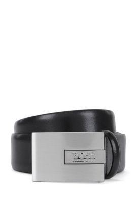 Leather Belt | Sandre Sz Ltpl, Black