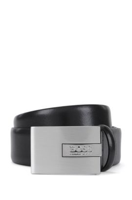 Leather Belt | Sandre Sz Ltpl, Black