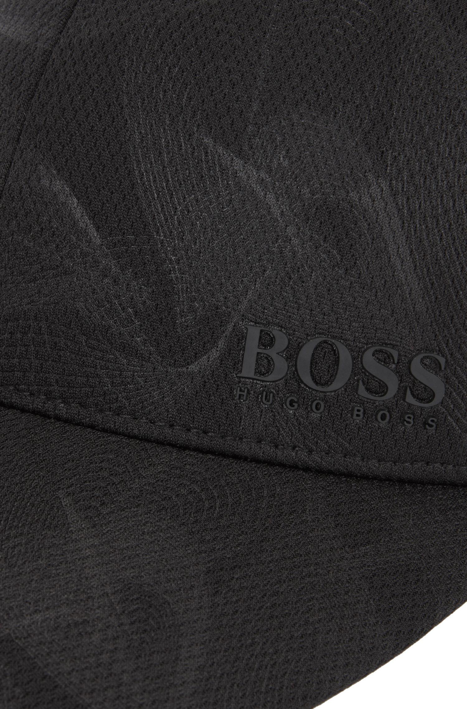 Printed Jersey Cap | Printcap, Black