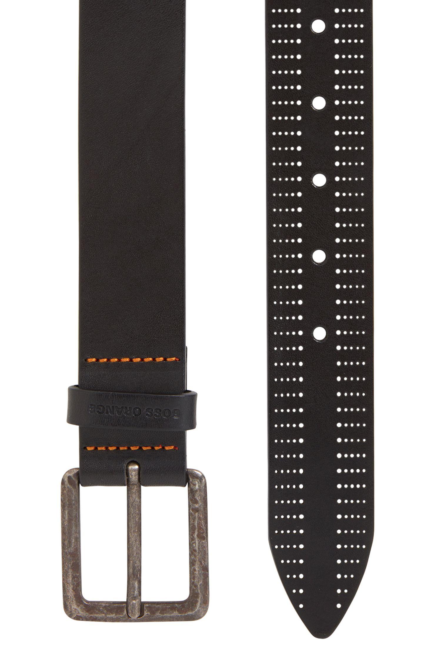 Leather Belt | Jonn Sz Ltpf, Black