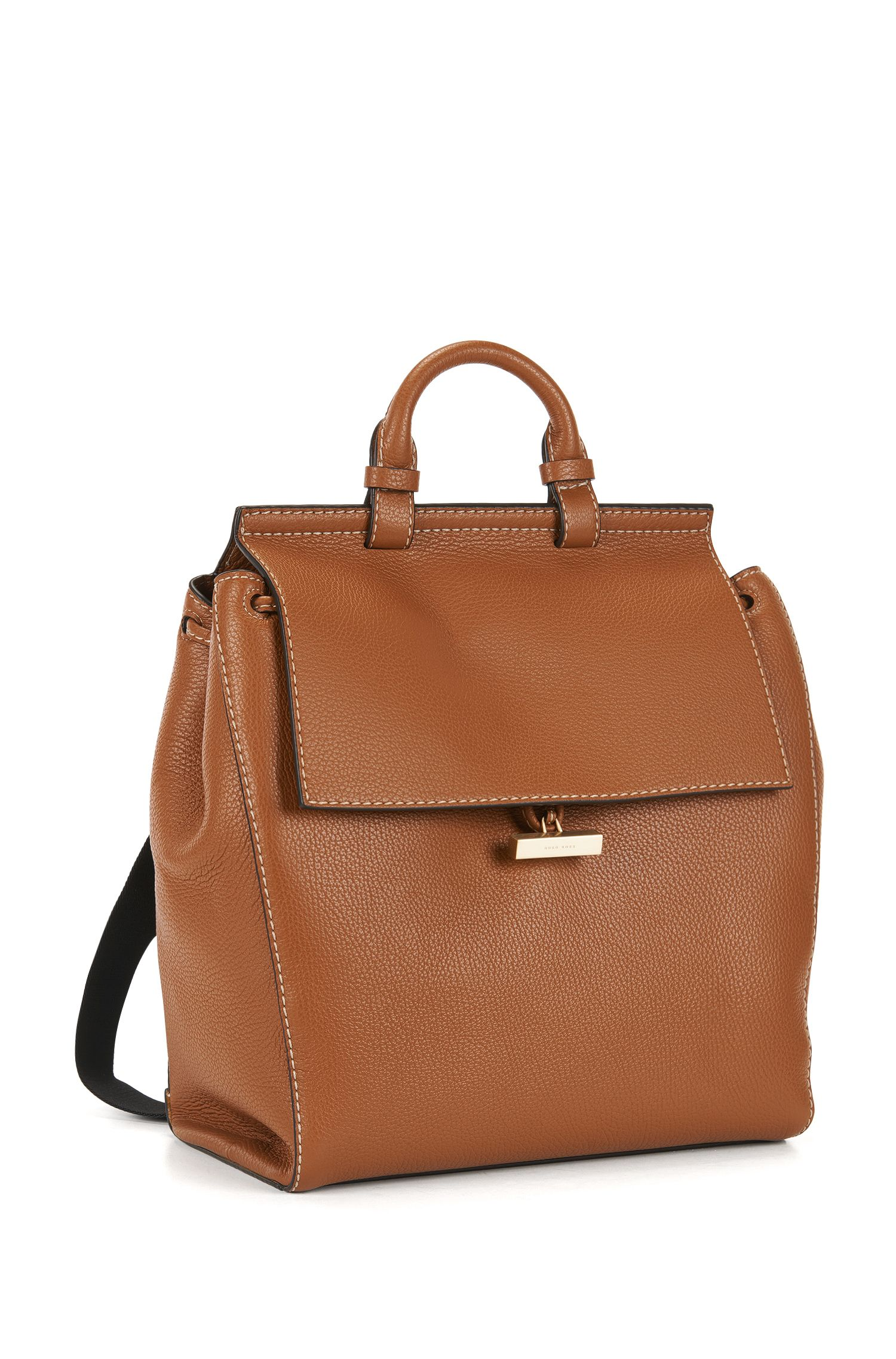 Full-Grain Leather Backpack | Soft Backpack