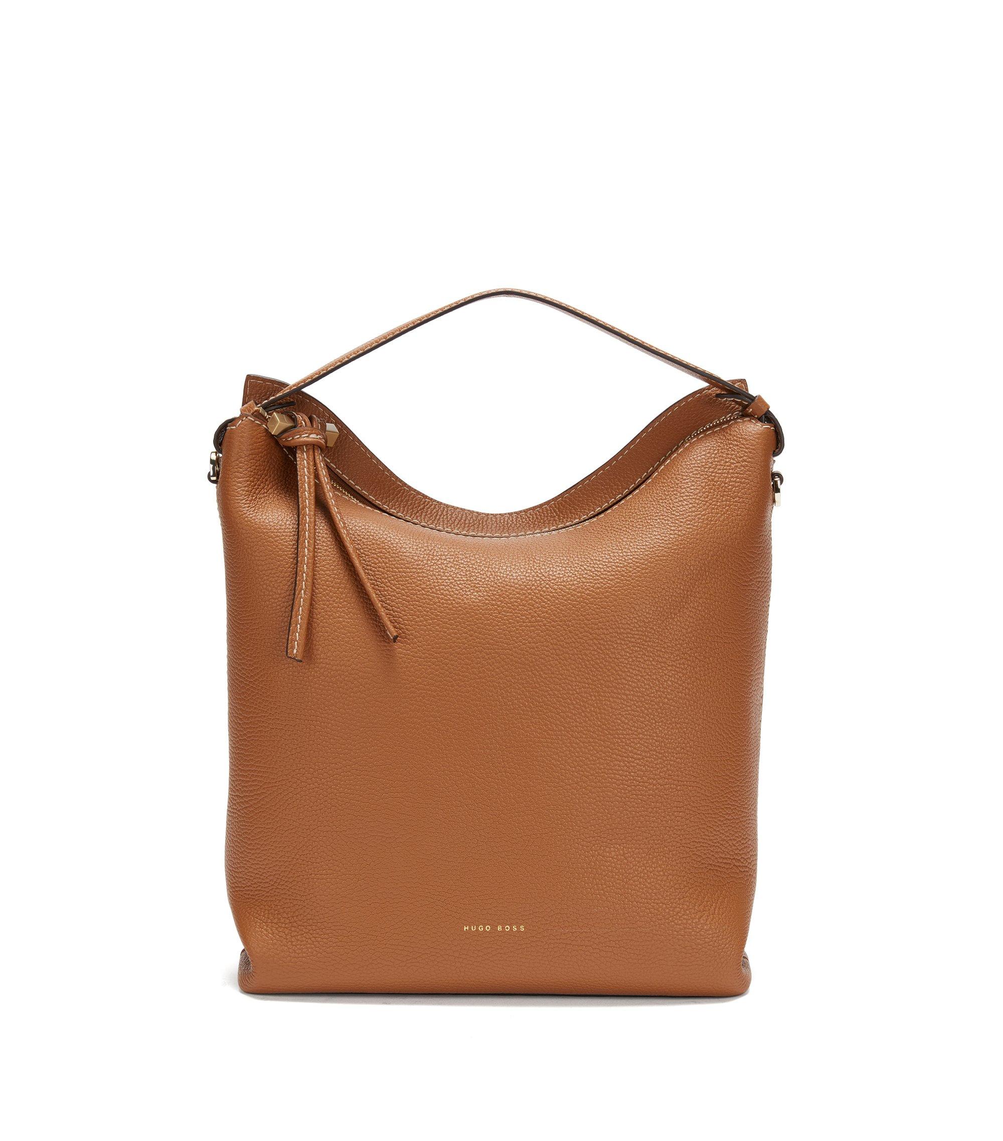 Leather Hobo Handbag | Soft Hobo, Brown