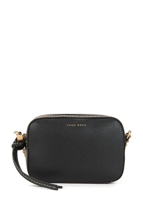 780694efe8 Full-Grain Leather Shoulder Bag | Soft Shoulder Bag, Black