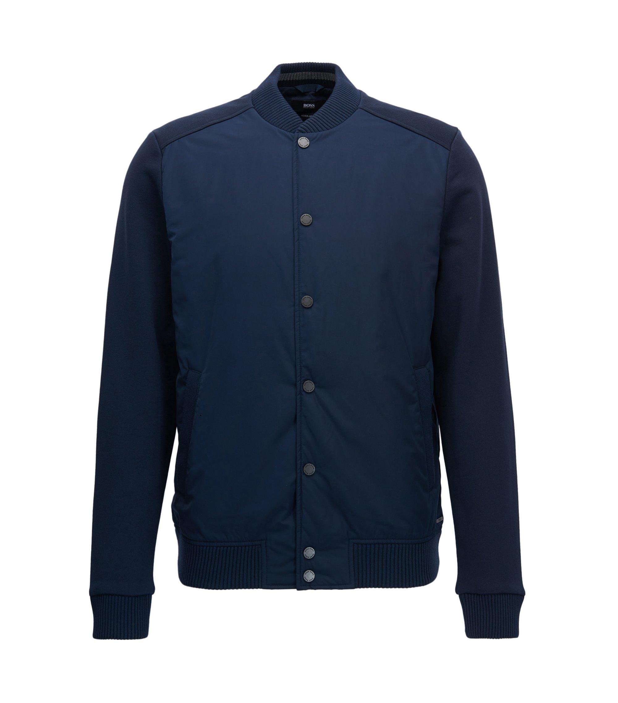 Varsity Jacket | Skiles, Dark Blue