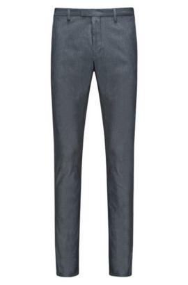 Stretch Cotton Pant, Extra Slim Fit | Helgo, Dark Blue