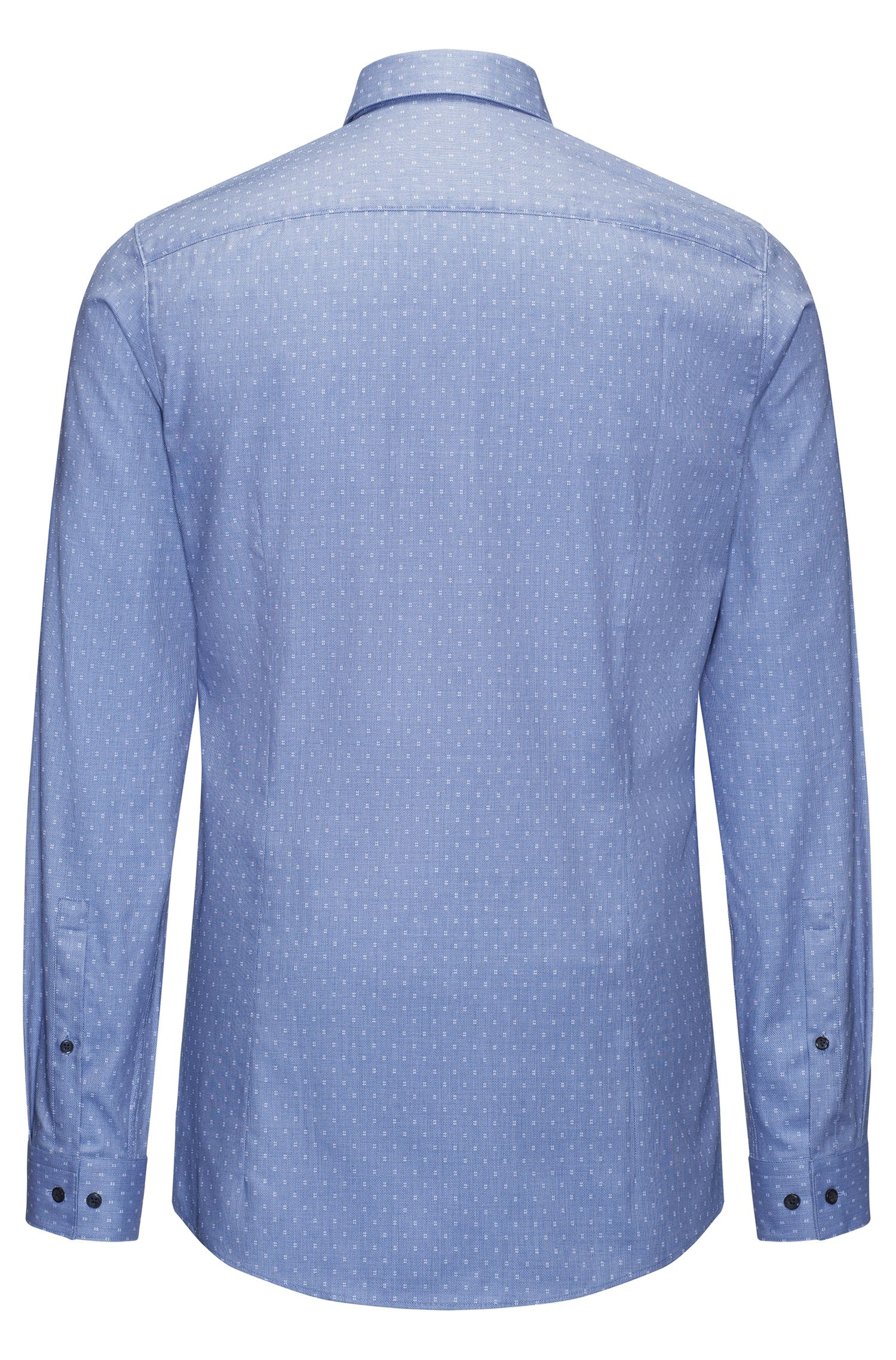 Hashtag Cotton Sport Shirt, Extra Slim Fit | Erriko
