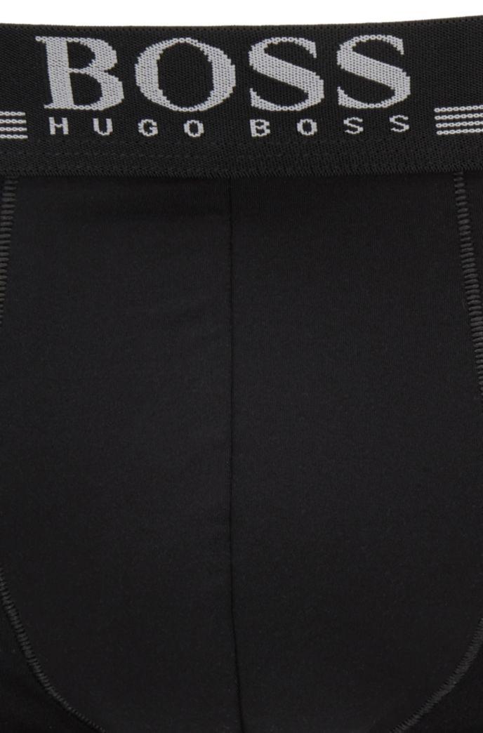 Boxer briefs in four-way-stretch microfiber