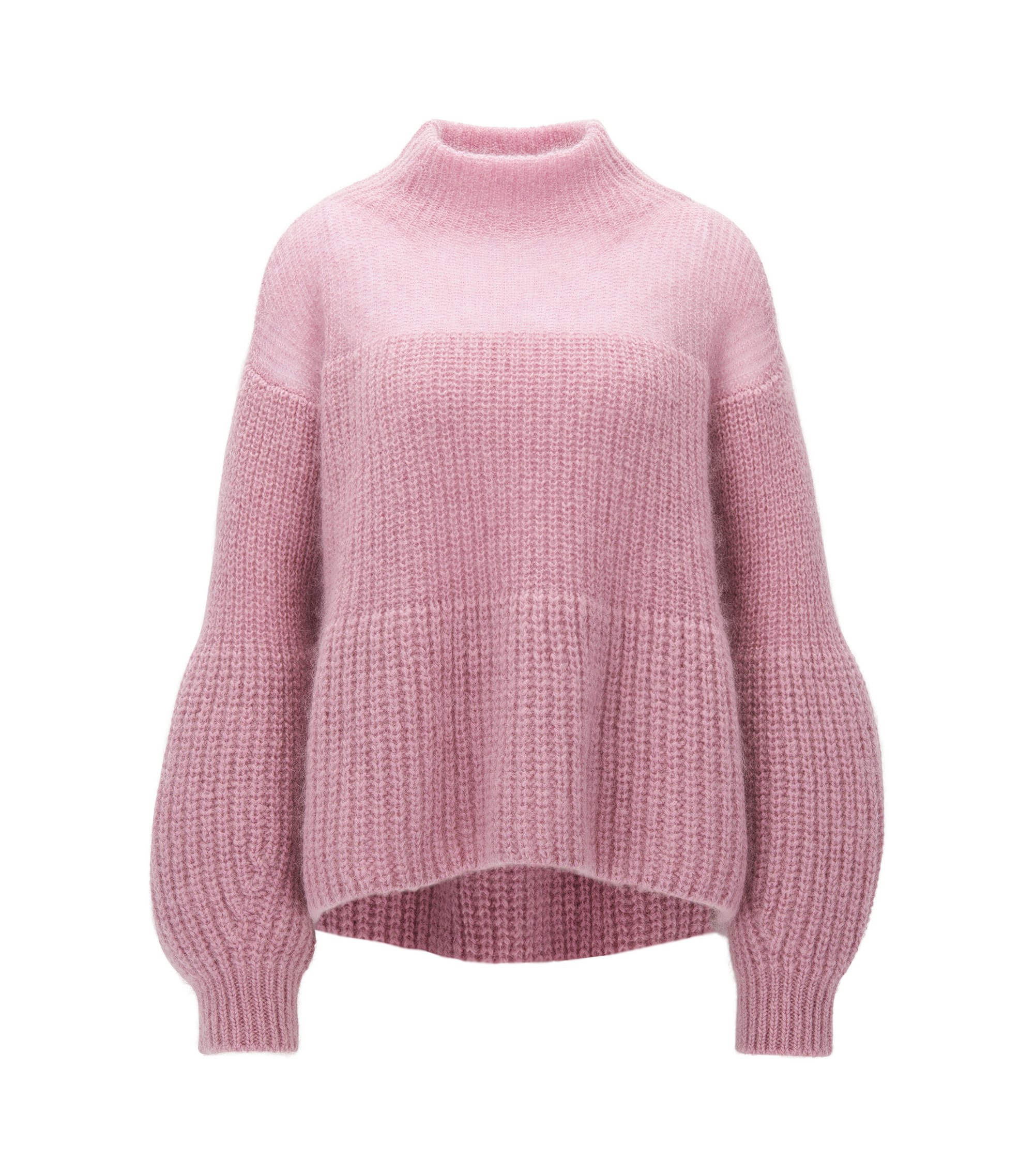 Mohair Blend Chunky Knit Sweater | Frieza, Purple